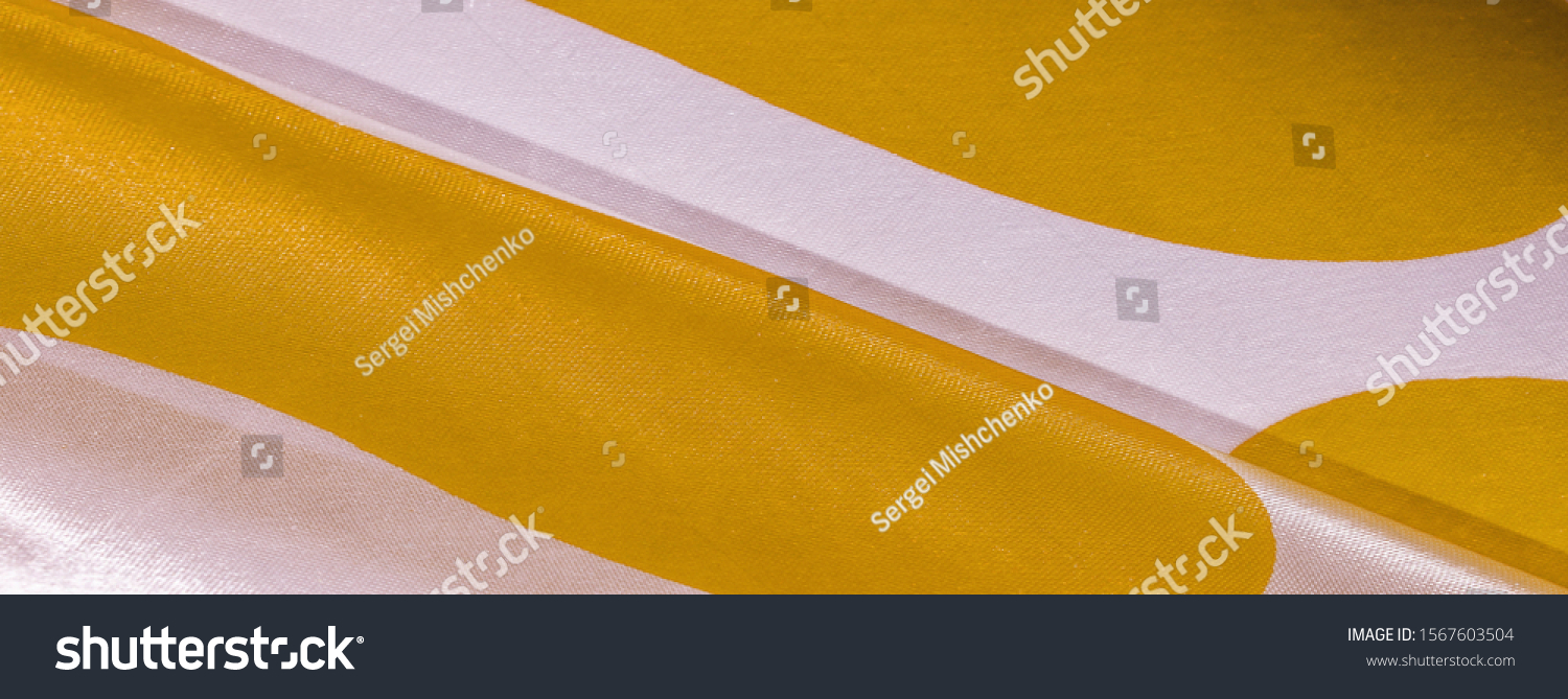 Texture, background, pattern, postcard, silk fabric, yellow sunglow white ovals, your projects will not go unnoticed with this fabric, buying this weave will awake the best #1567603504