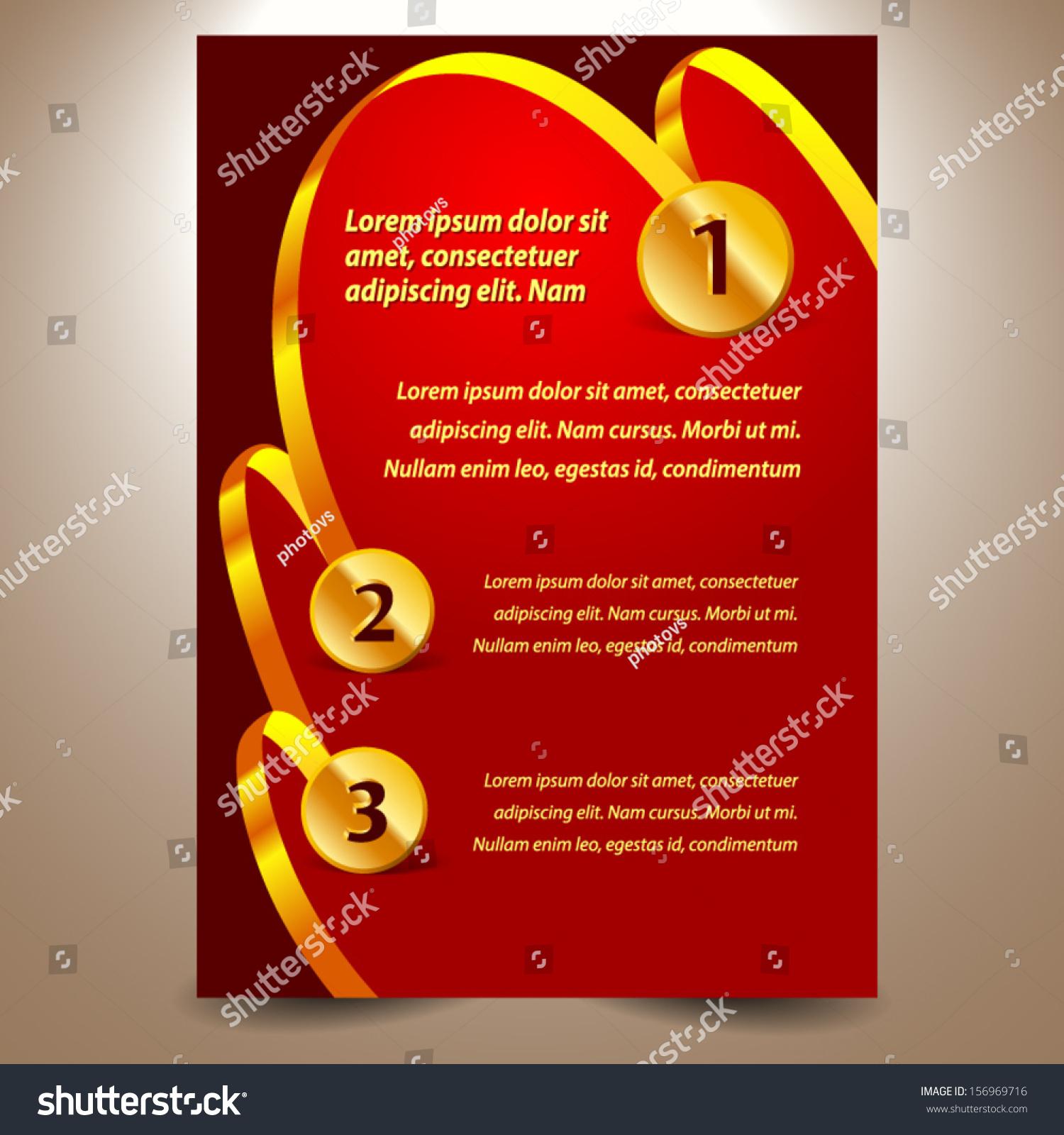 blank design template certificate ribbon award stock