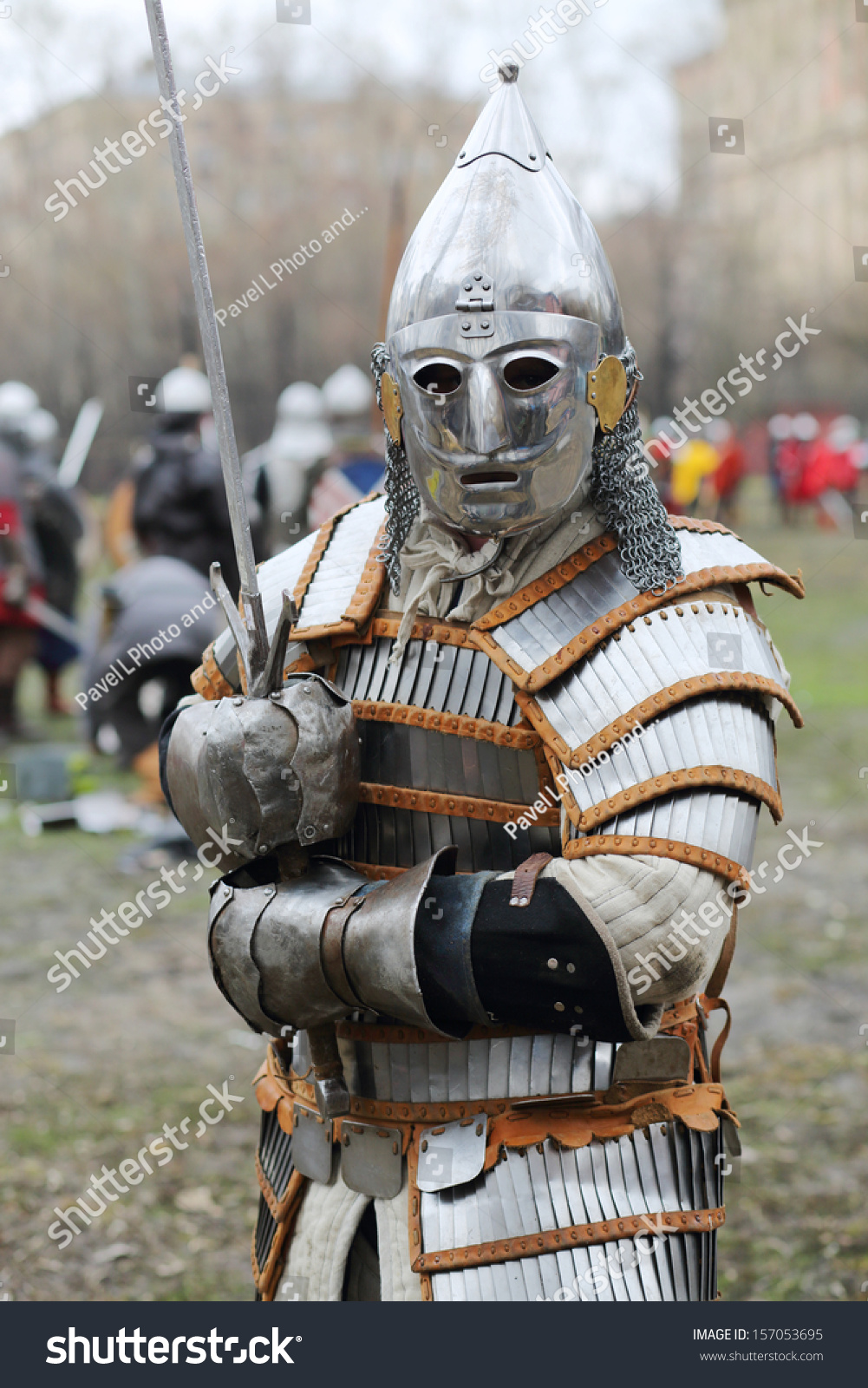 stock-photo-moscow-apr-warrior-in-armor-with-sword-at-battle-of-east-russia-orda-xi-xv-centuries-on-157053695