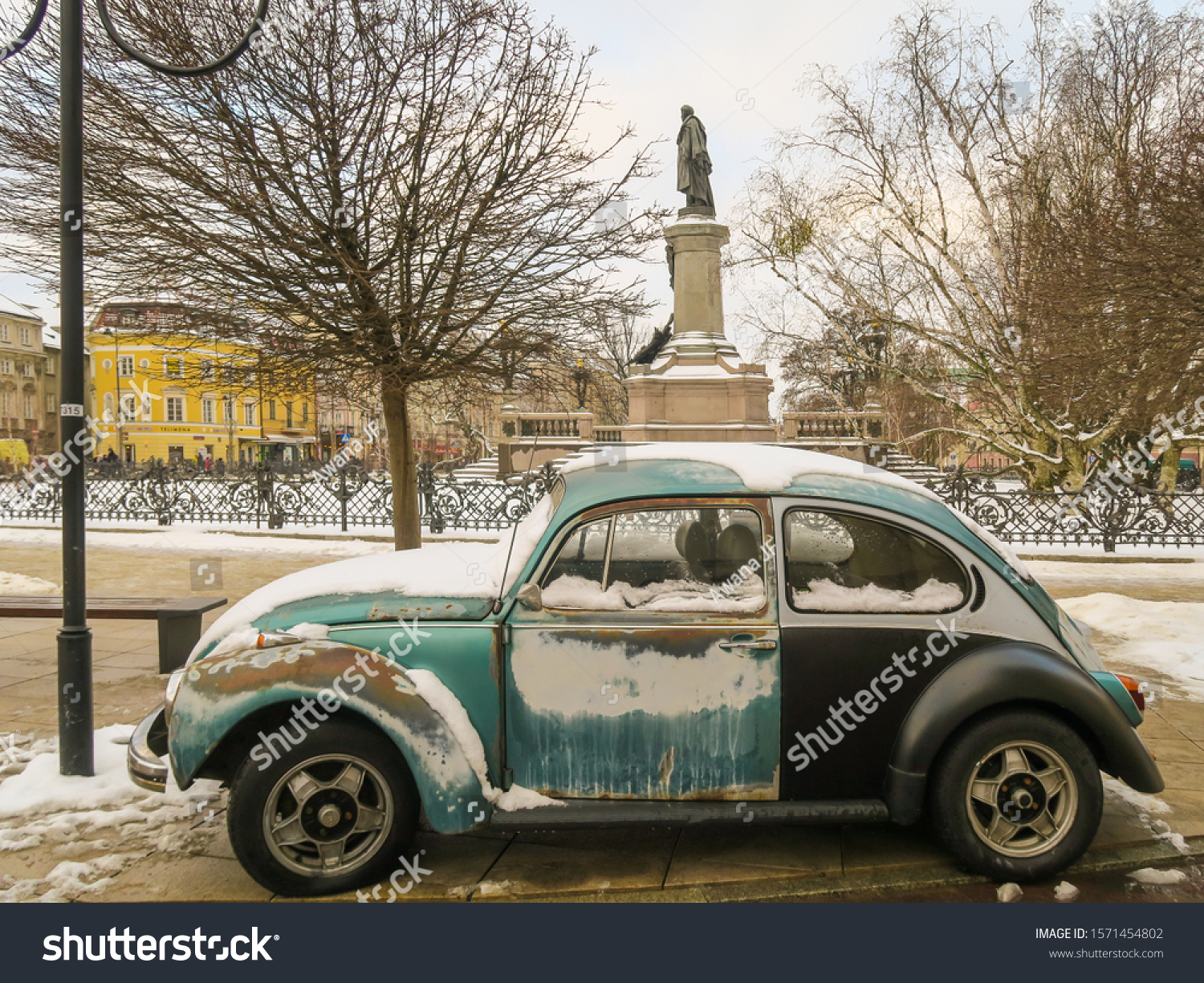 stock-photo-warsaw-poland-january-rusty-