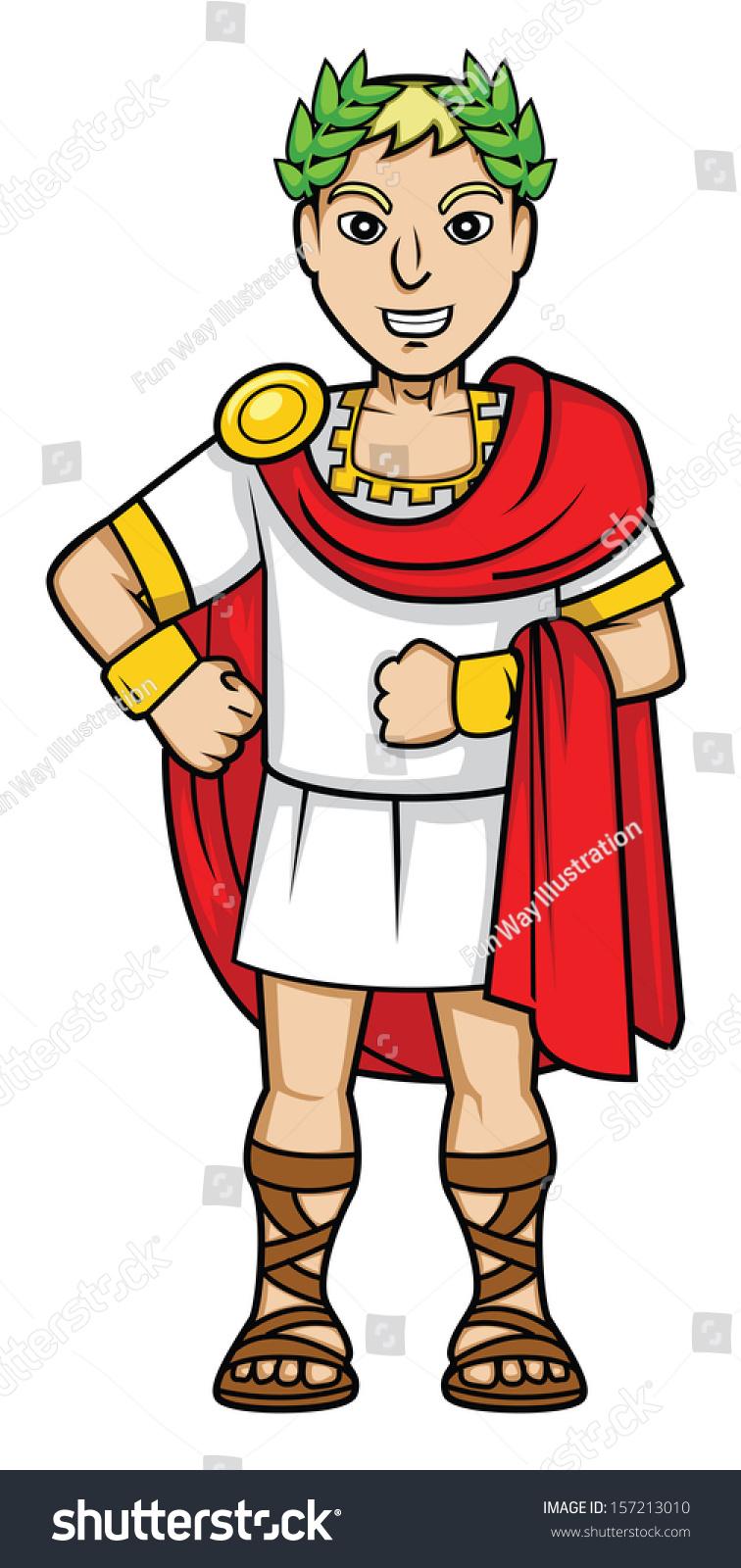 Emperor Romans Stock Vector 157213010 Shutterstock