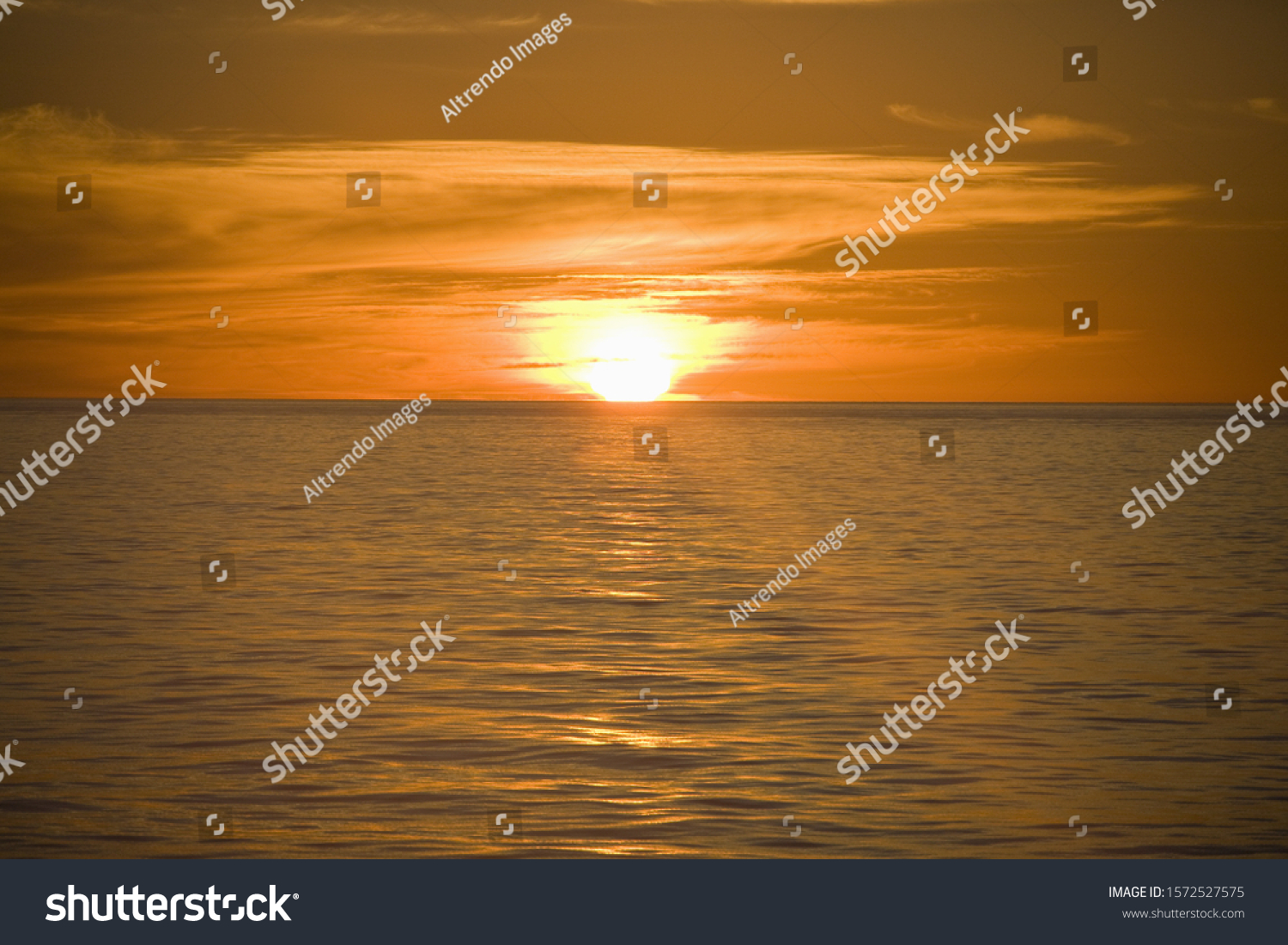 Sunrise, Gulf of California, Sea of Cortez, Mexico #1572527575