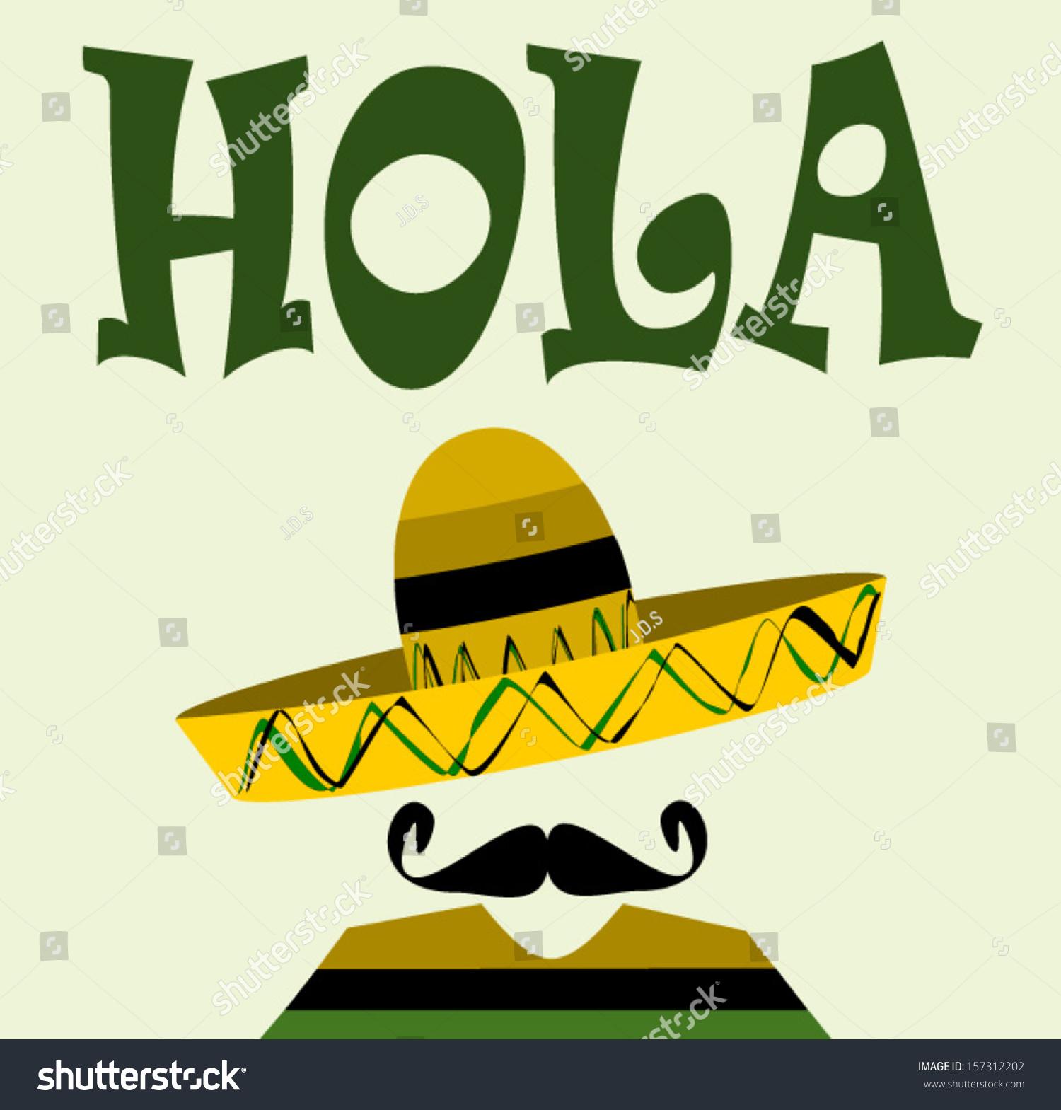 Spanish Man With Sombrero