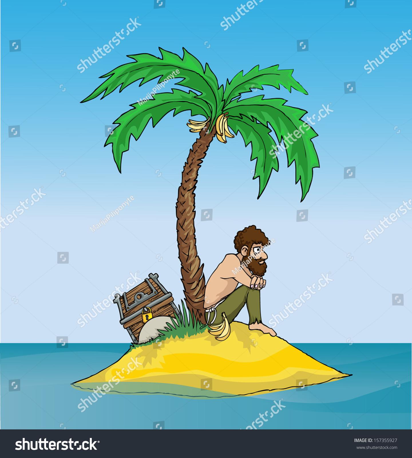 Man Marooned On Treasure Island