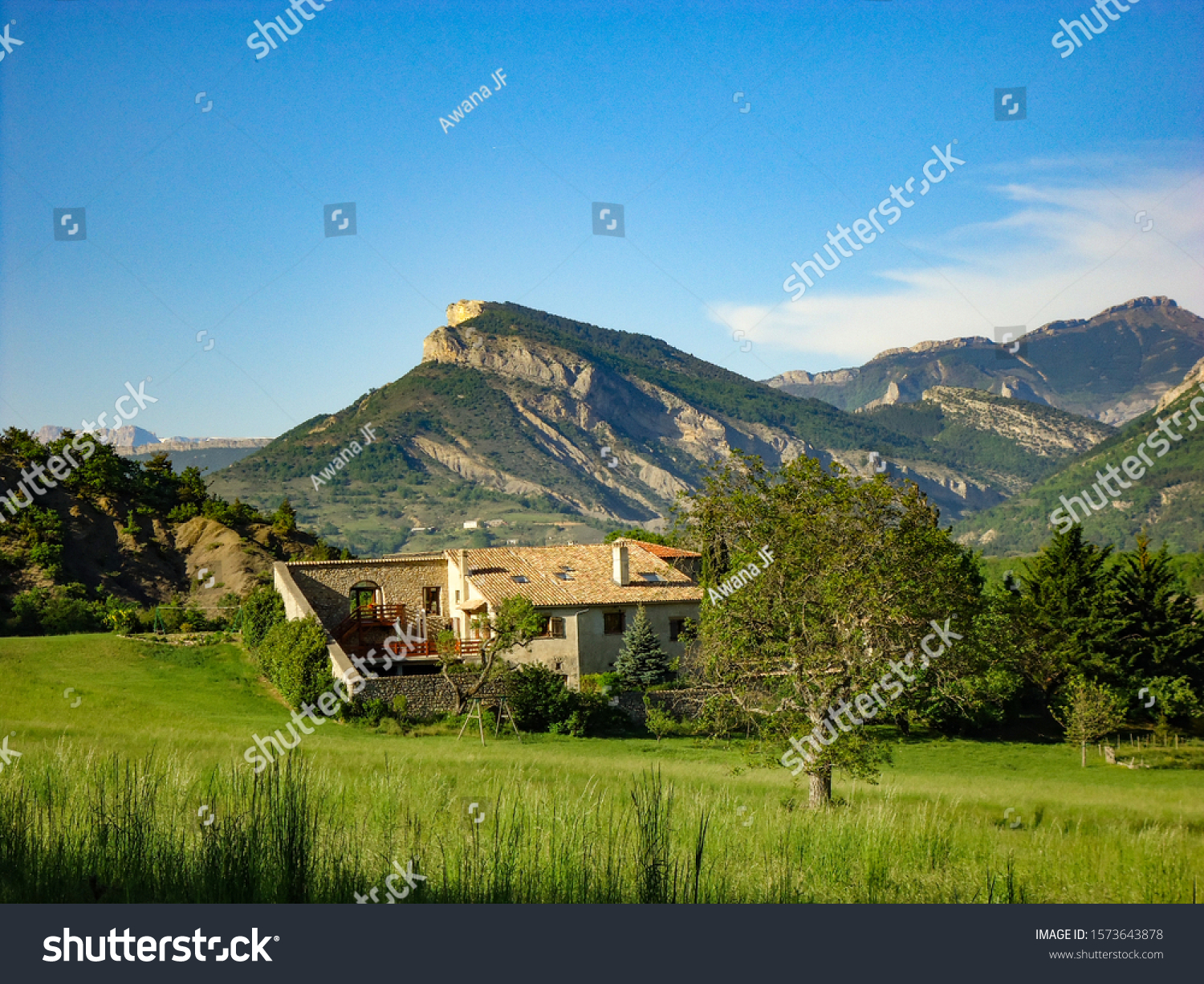 stock-photo-lagrand-france-august-proven