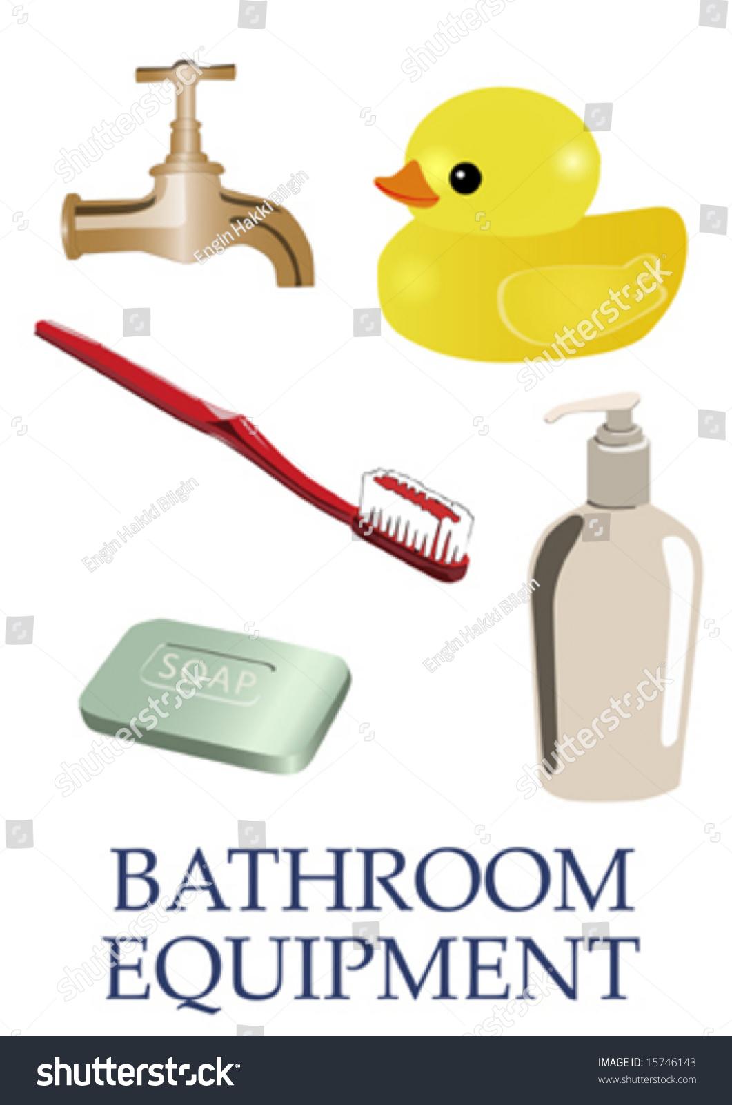 vector bathroom equipment