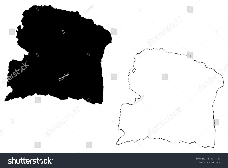 san german puerto rico map San German Municipality Commonwealth Puerto Rico Stock Vector san german puerto rico map