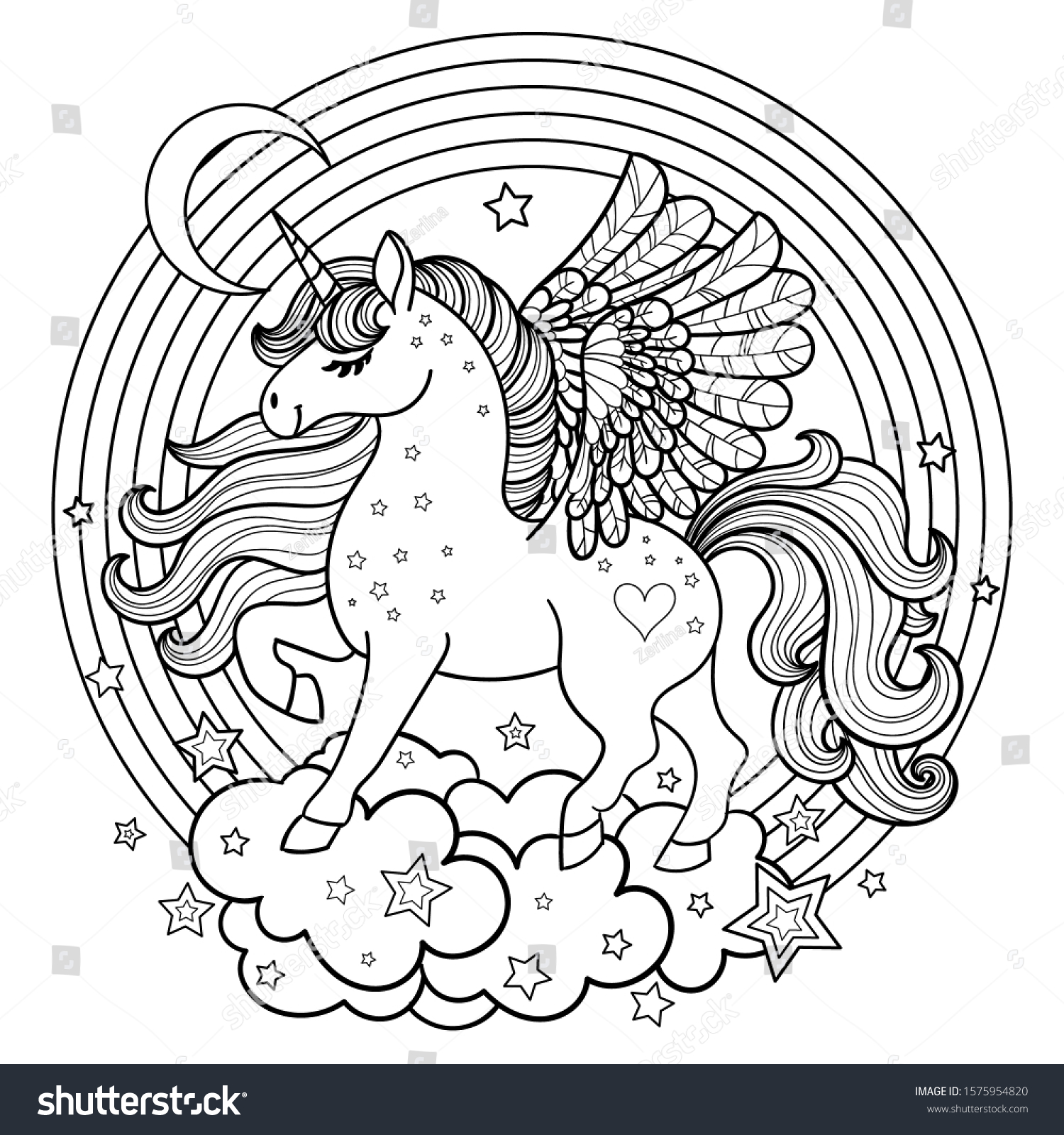 Unicorn Colours Images Stock Photos Vectors Shutterstock