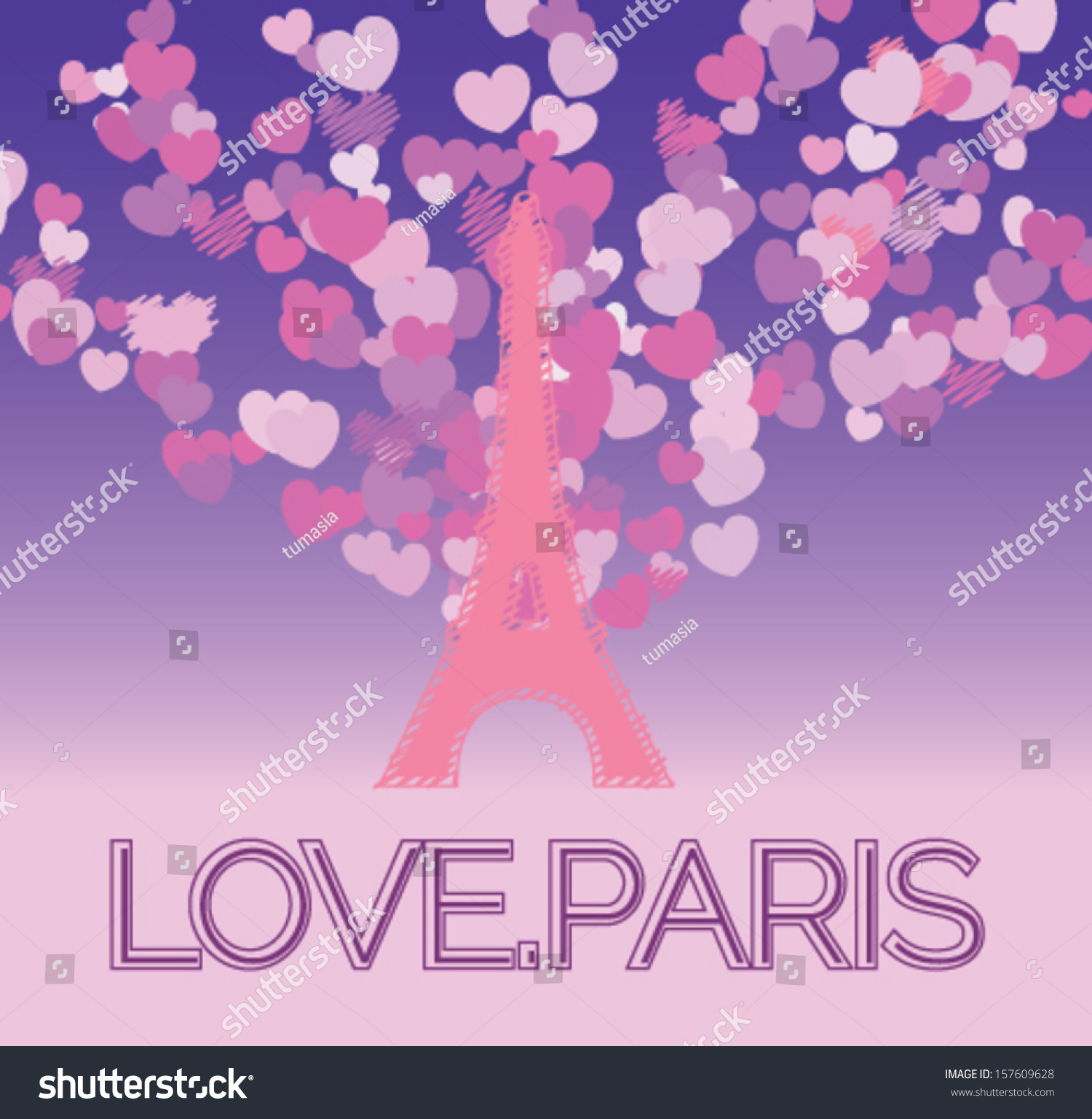 Romance Book Cover Vector ~ Vintage eiffel tower template vectorillustration stock