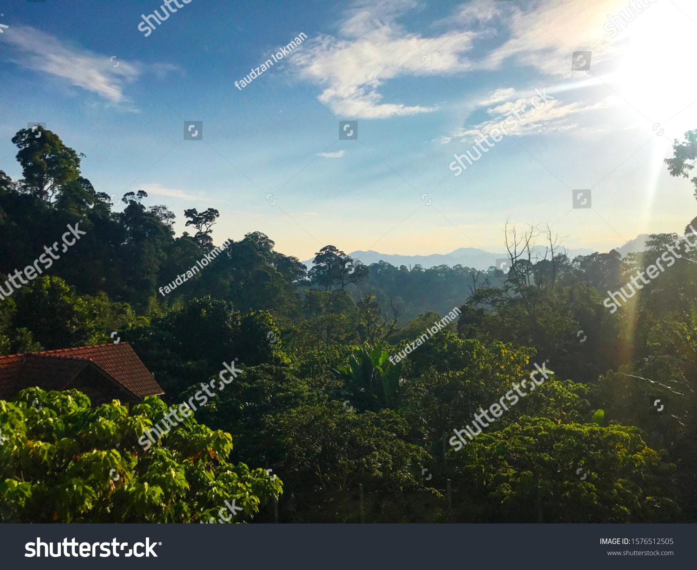 View D Villa Janda Baik Pahang Stock Photo Edit Now 1576512505