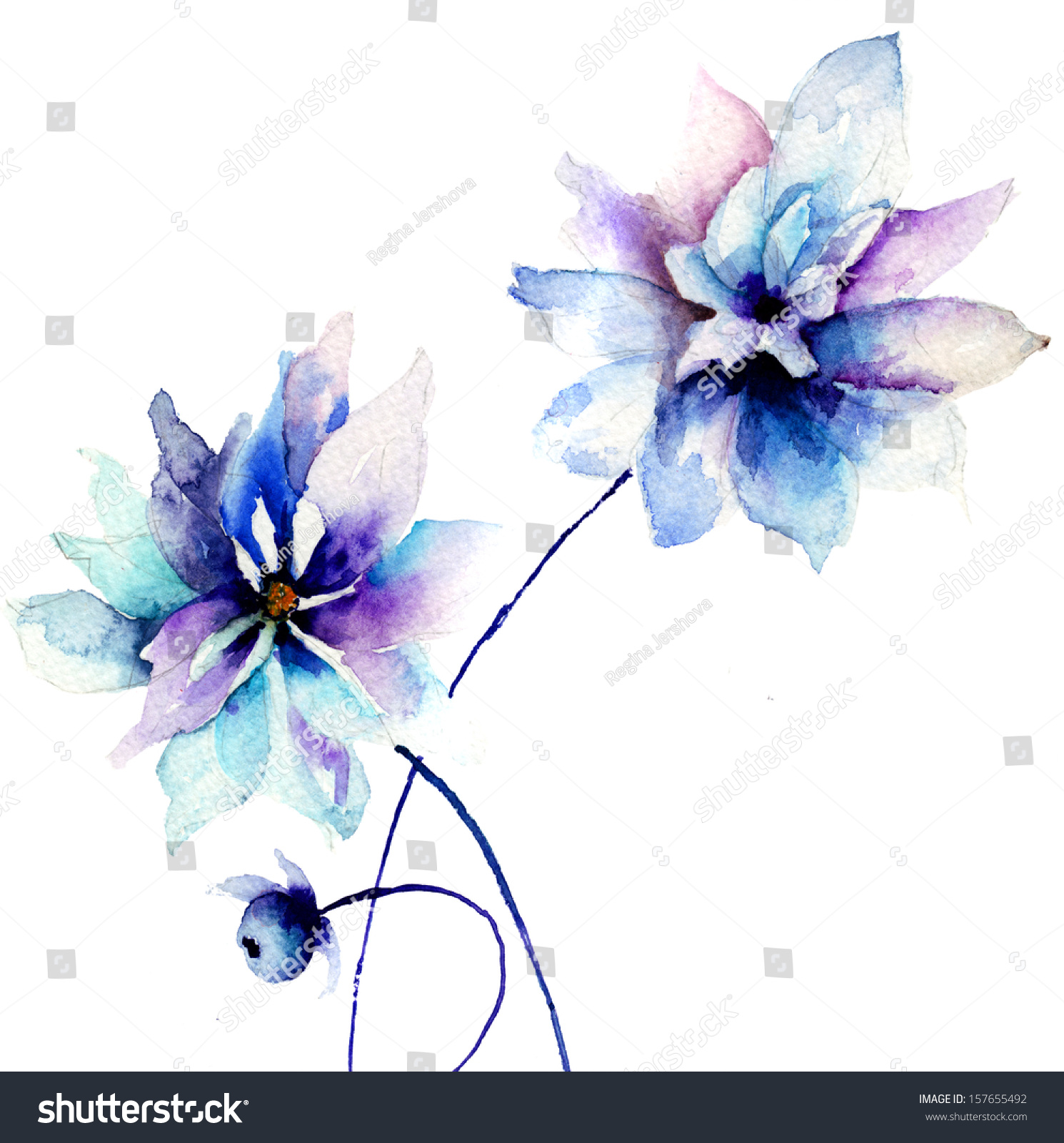 Beautiful blue flowers pictures gallery flower wallpaper hd beautiful blue flowers watercolor painting stock illustration beautiful blue flowers watercolor painting izmirmasajfo izmirmasajfo
