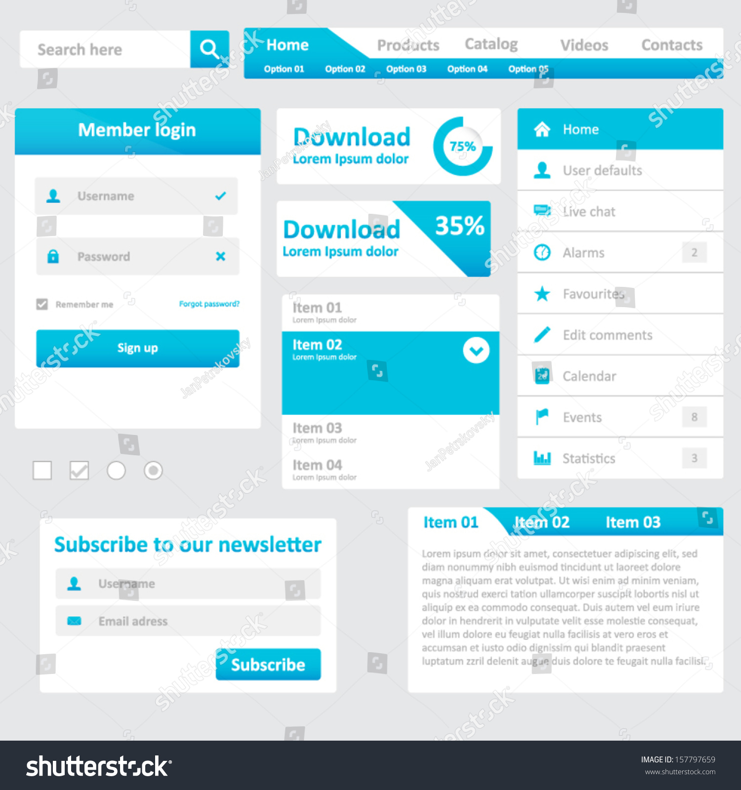 Showcase of Beautiful Search Box UI Designs - Hongkiat
