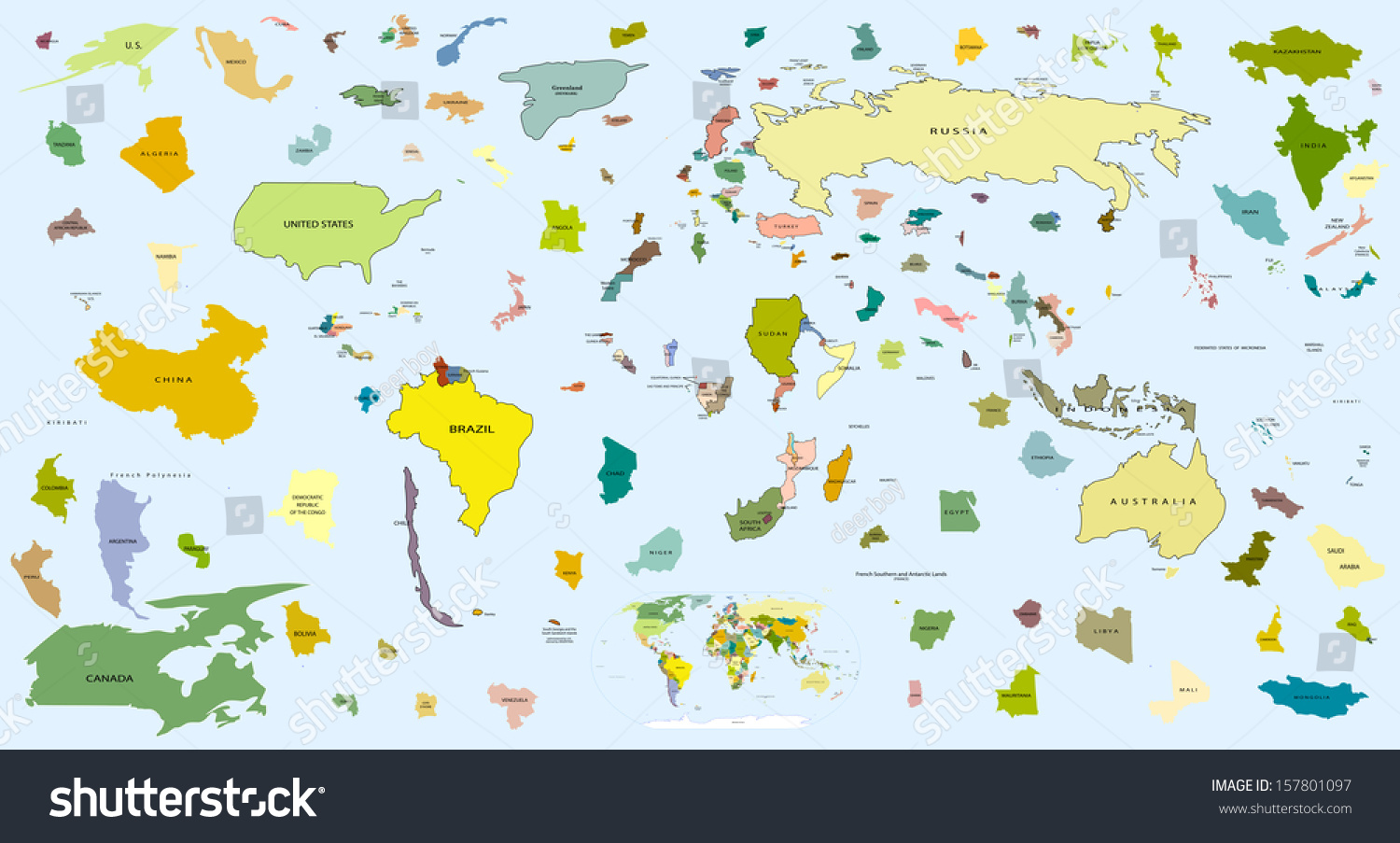 Map Of The World Puzzle Outline Elements Of Horizontal Vertical And Diagonal Directions