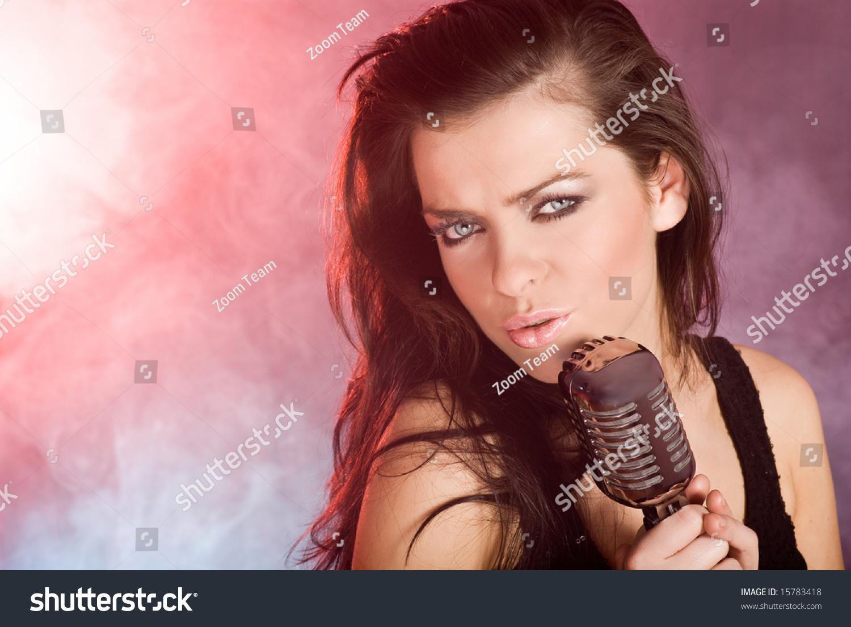 singing the girl retro - photo #28