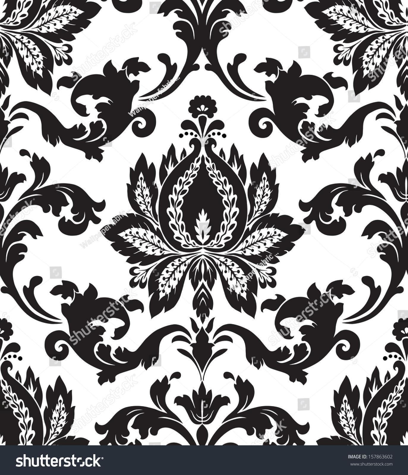 Simple Damask Patterns