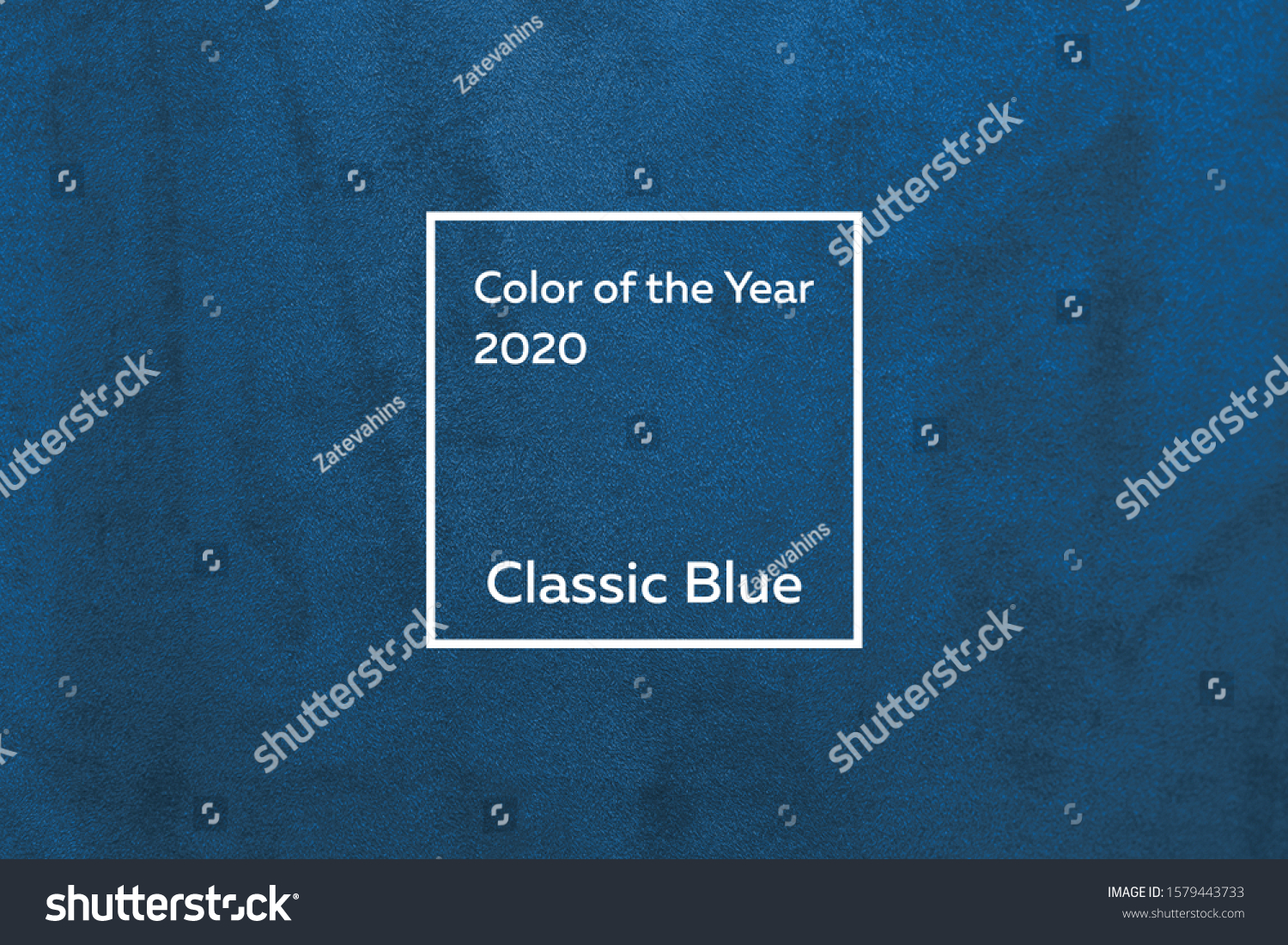 turquoise fabric with a nap pleated. Color of the year 2020 Classic Blue pantone #1579443733