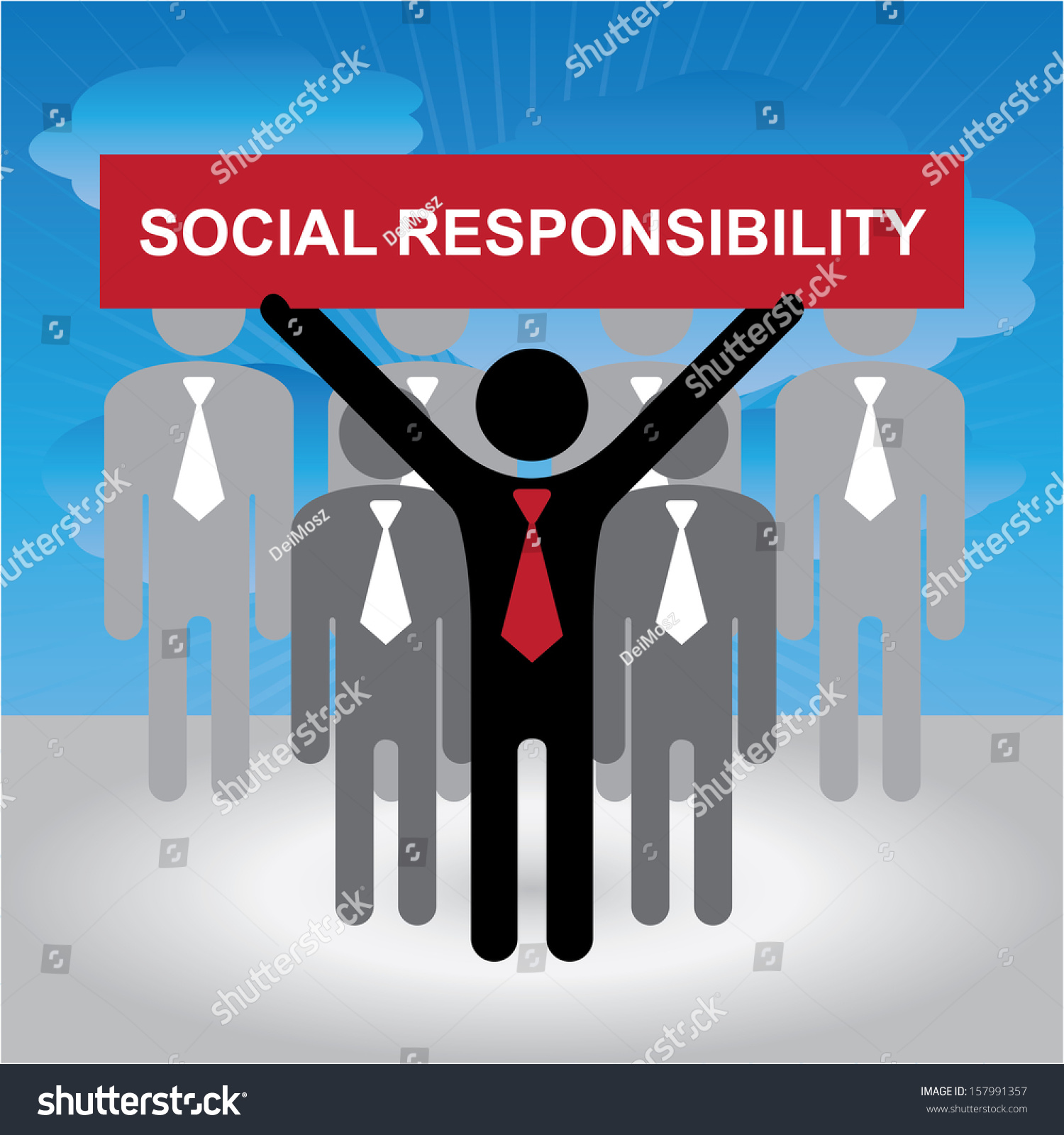 social responsibility of a businessman Rethinking the social responsibility of business  that the only social responsibility a law-abiding business has is  i'm a businessman and a free market.