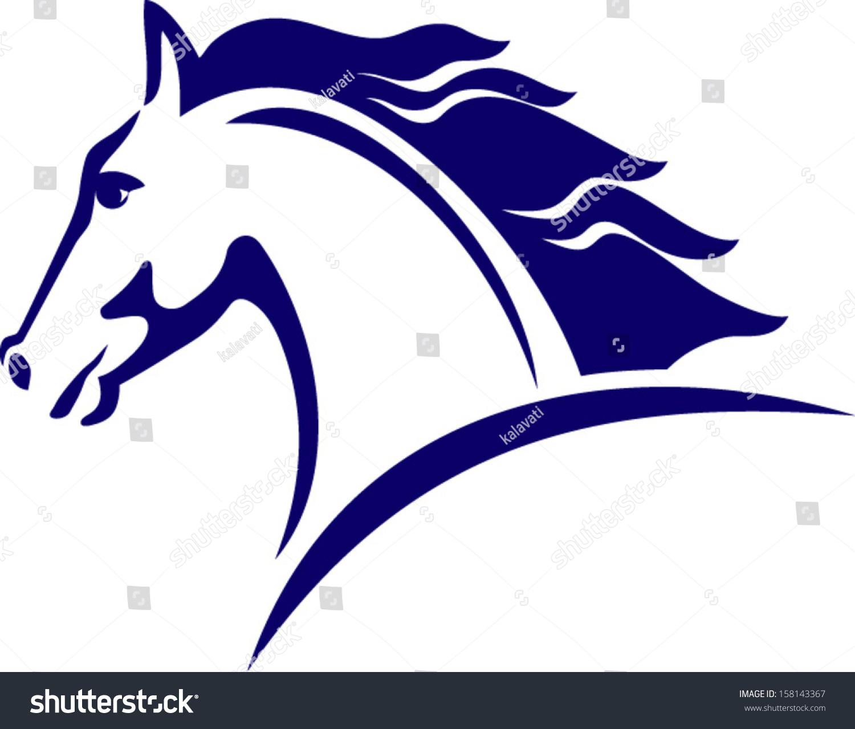 horse logo clipart - photo #38