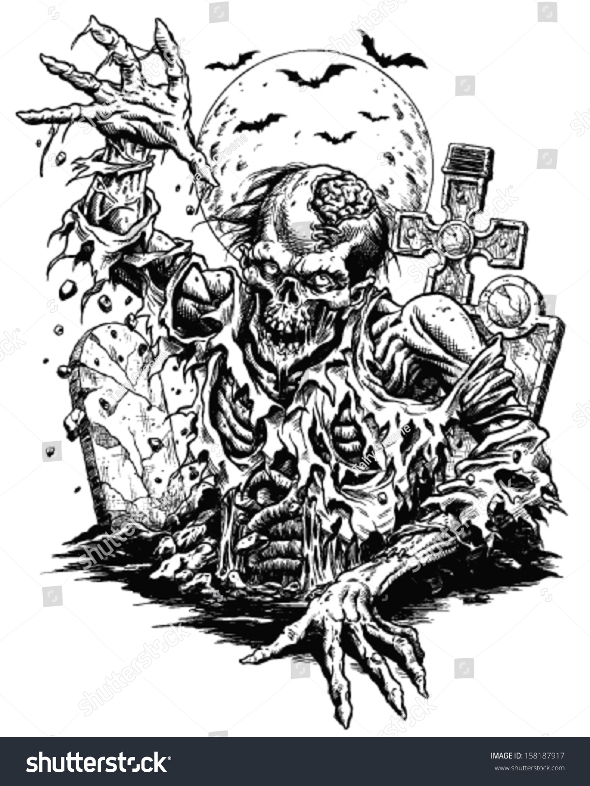 Gallery For gt Zombie Comic Art