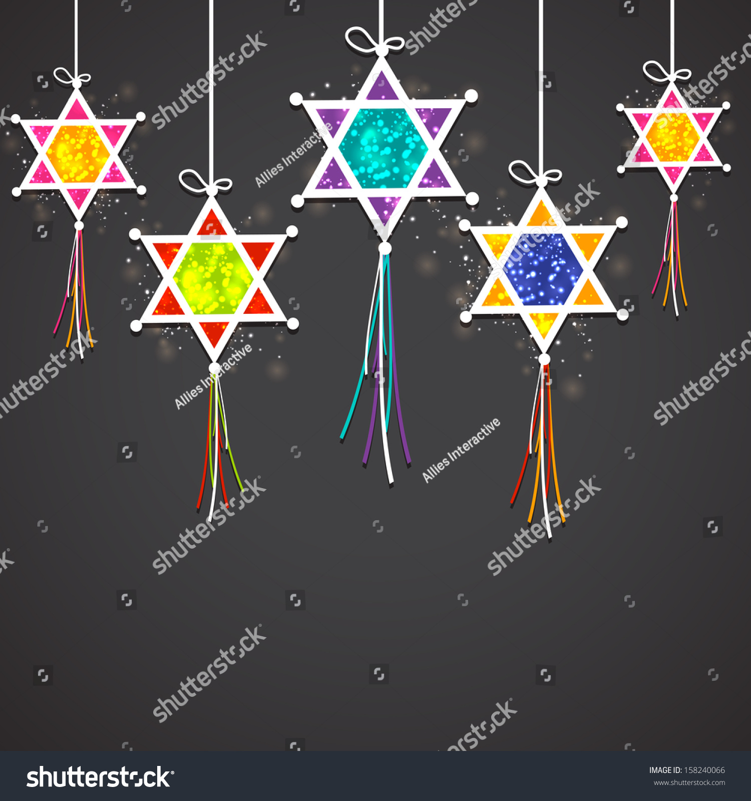 Indian Festival Decoration Indian Festival Of Light Happy Diwali Concept With Hanging