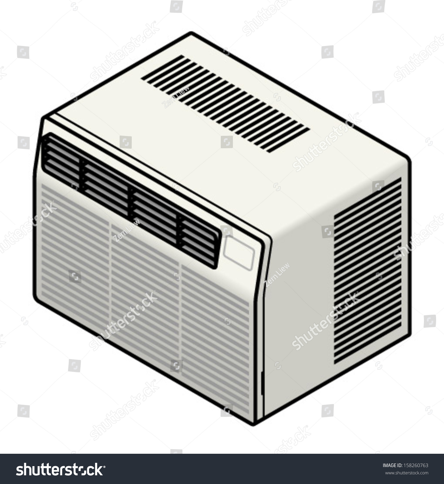 Domestic All In One Wall Or Window Mounted Air Conditioner. Stock  #1A1C21