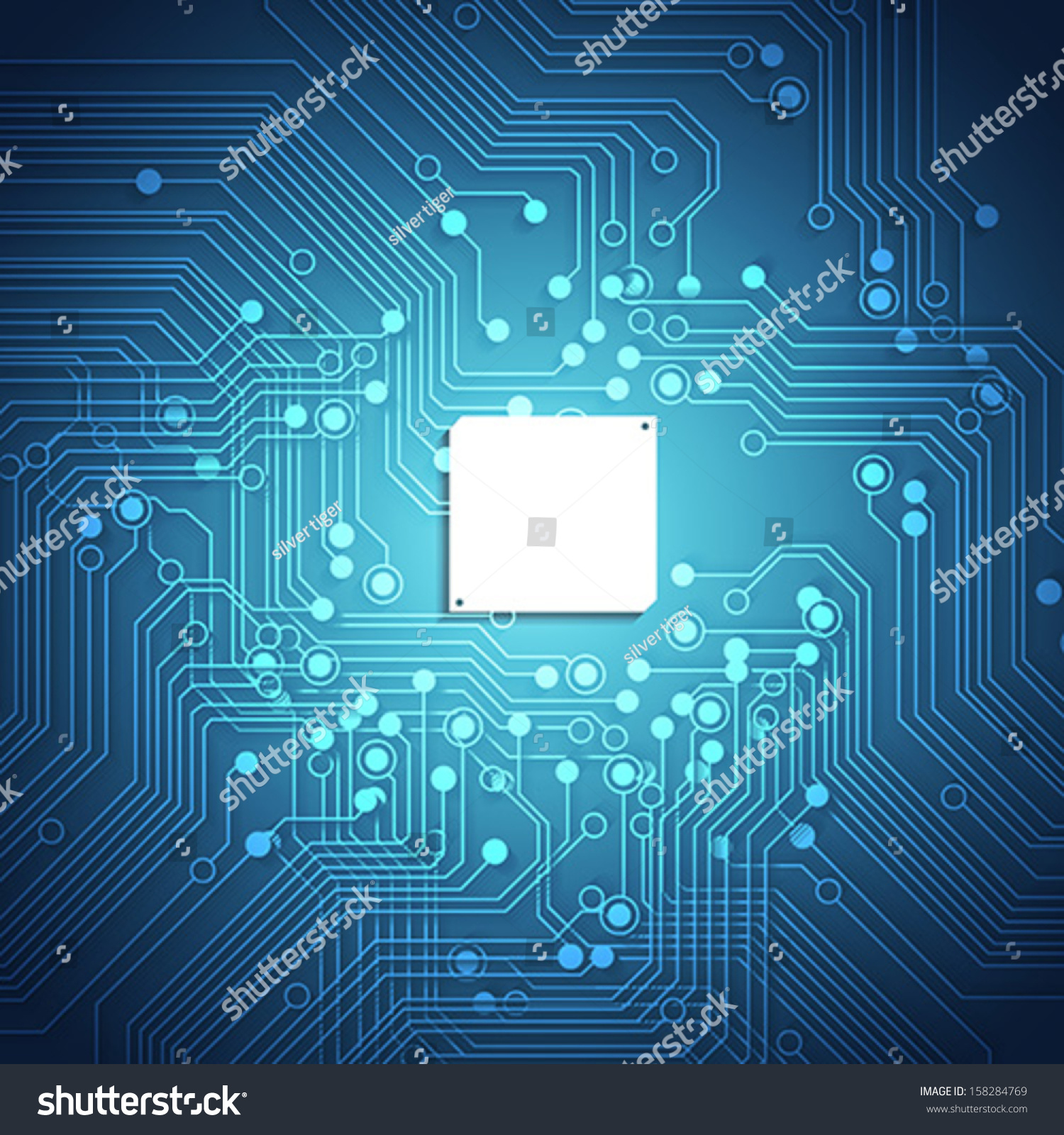 Snap Circuit Board Blue Background Stock Vector Illustration Textures Pinterest Abstract Backgrounds Texture