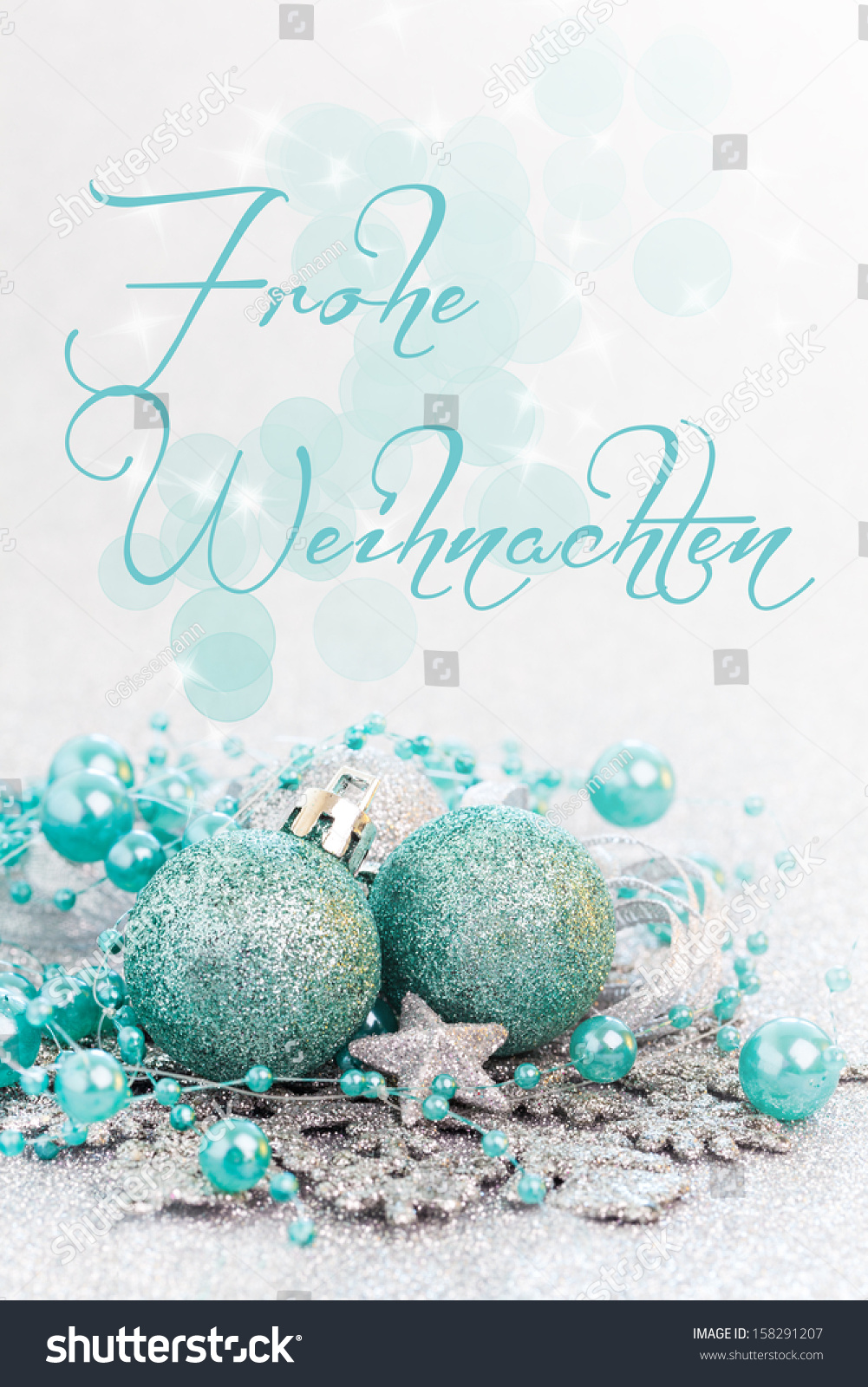 merry christmas card german with text frohe weihnachten. Black Bedroom Furniture Sets. Home Design Ideas