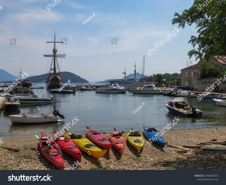 stock-photo-sipan-island-croatia-august-