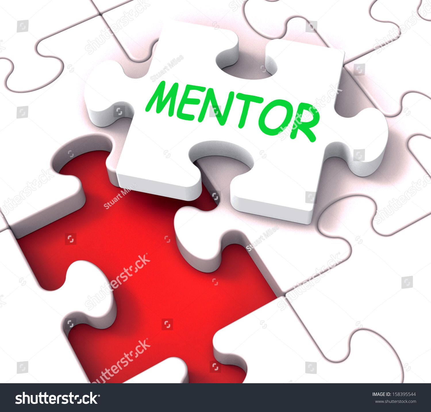 Mentor puzzle showing advice mentoring mentorship stock for Horticulturist crossword clue