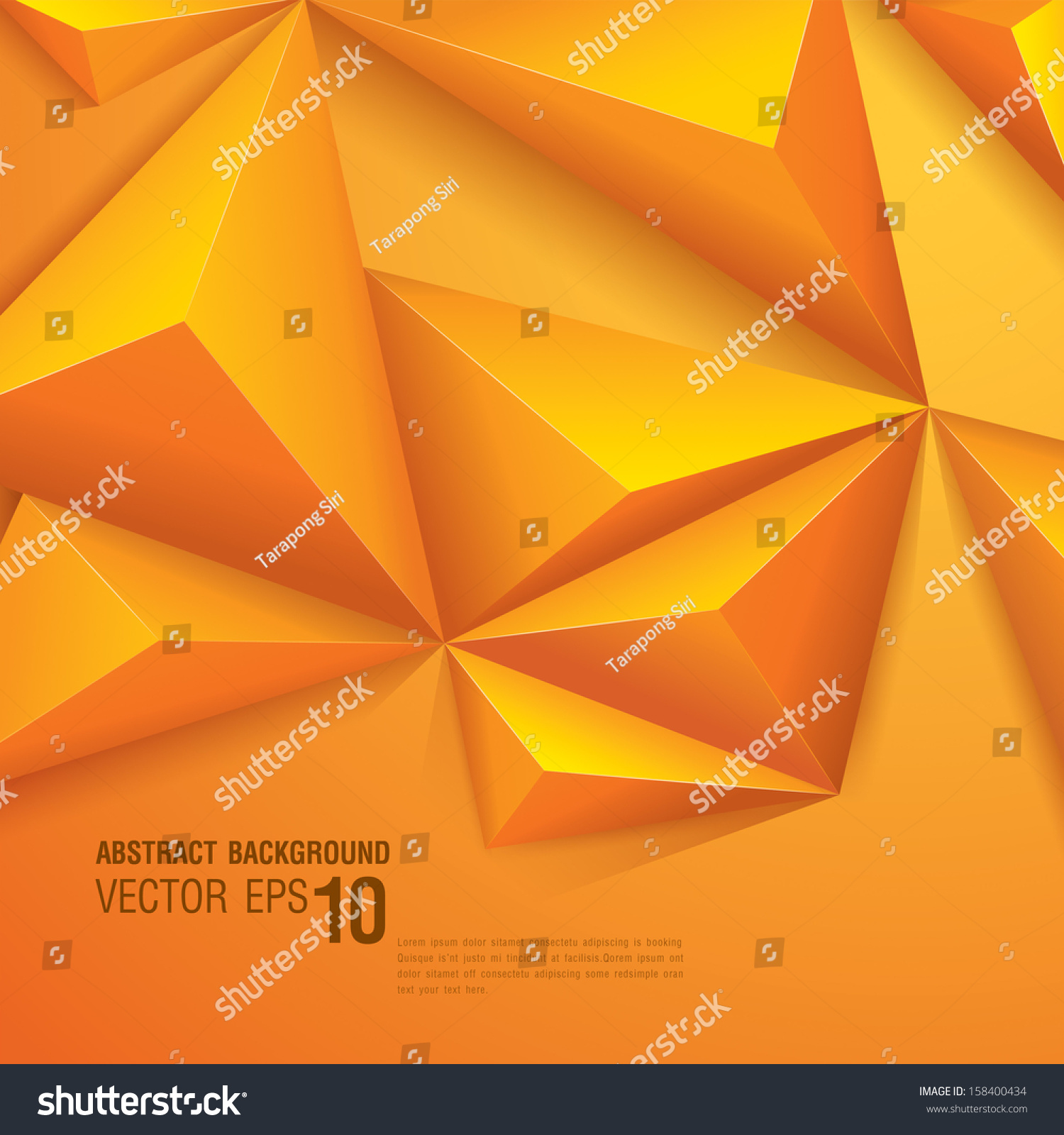 Abstract Book Cover Background ~ Abstract geometric vector background template for the