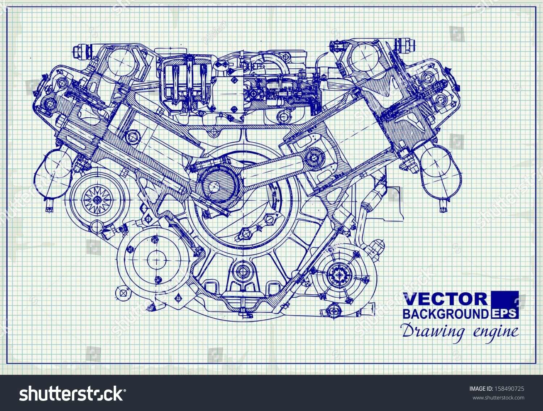 Old Engine Diagram - Wiring Diagram Write on