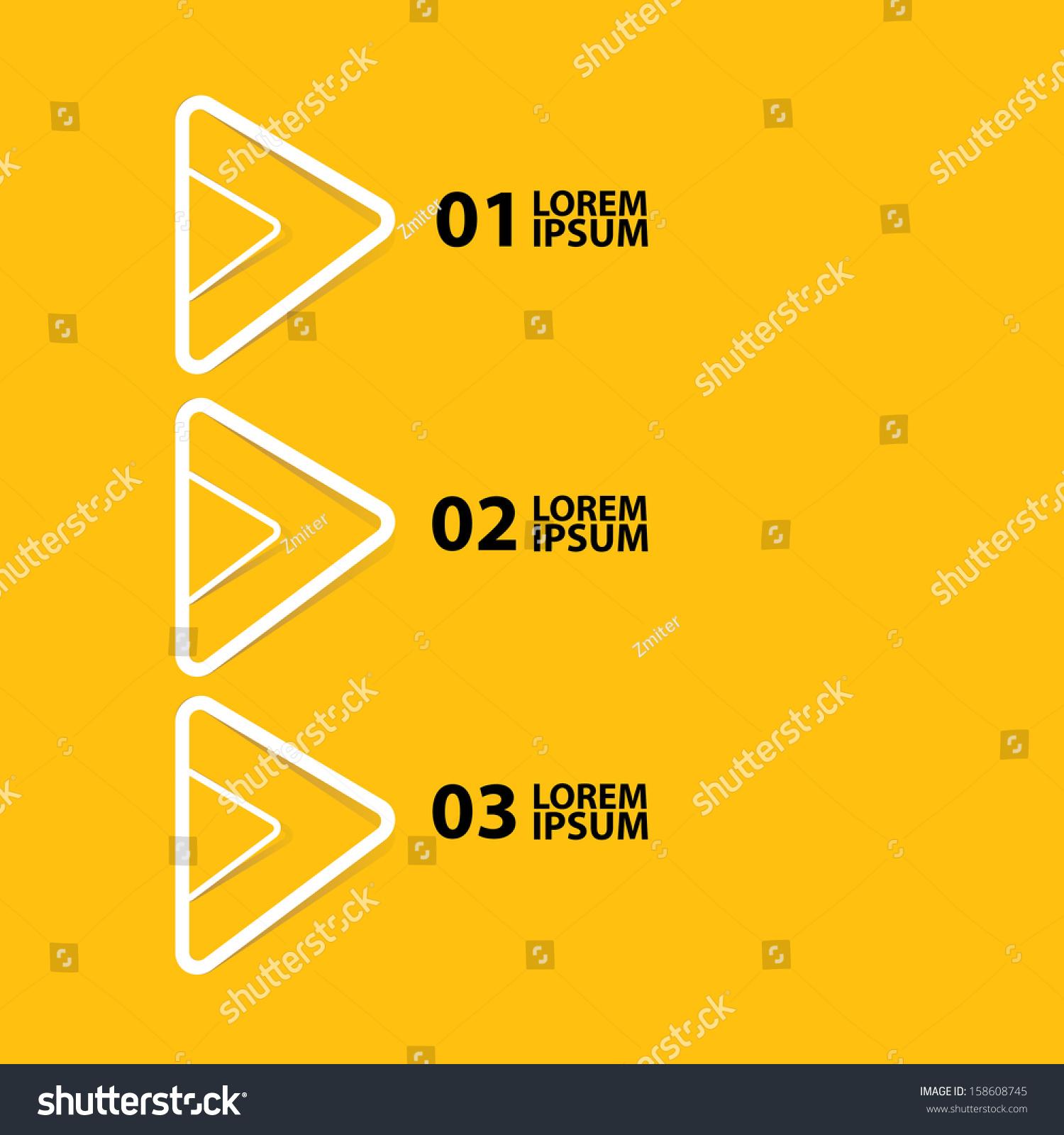 Cut Paper Design Template On Orange Vector 158608745 – Paper Design Template