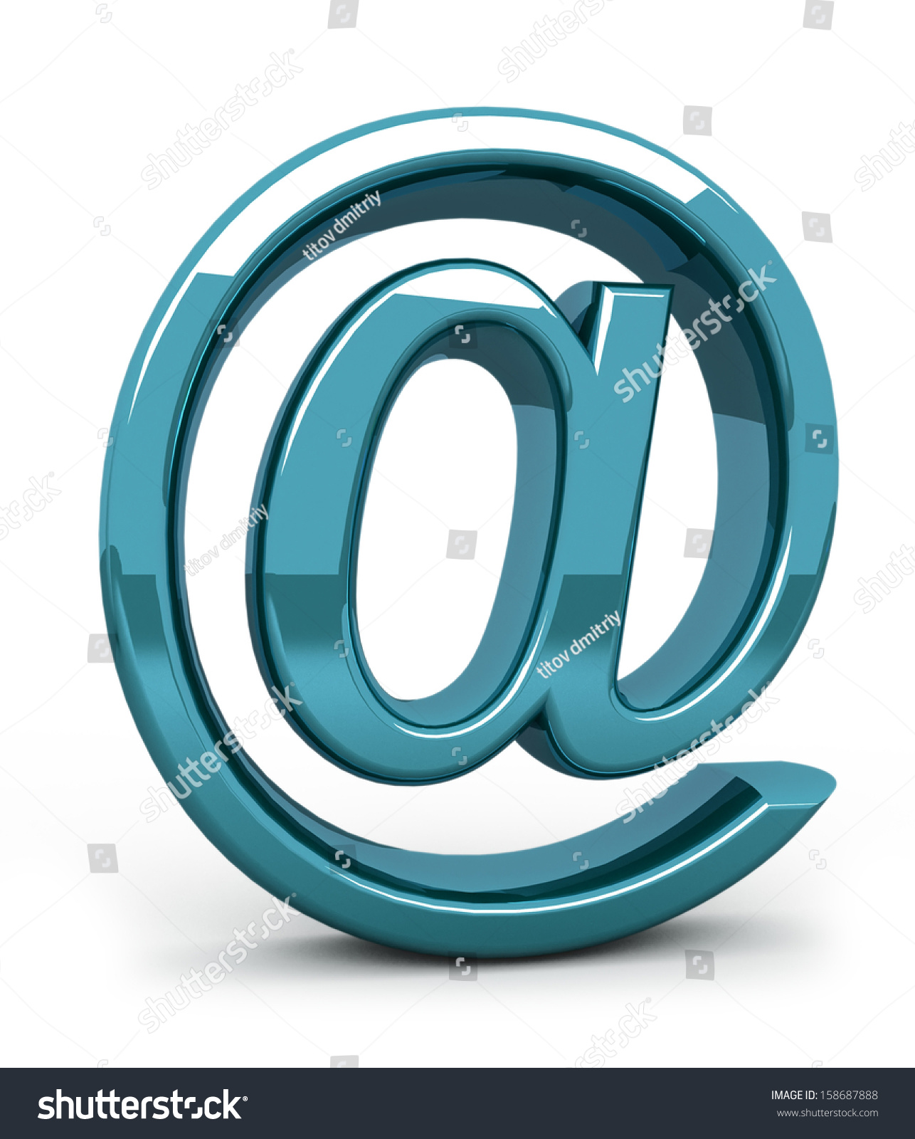 Steel email internet icon 3d isolated stock illustration 158687888 steel e mail internet icon 3d isolated on white biocorpaavc