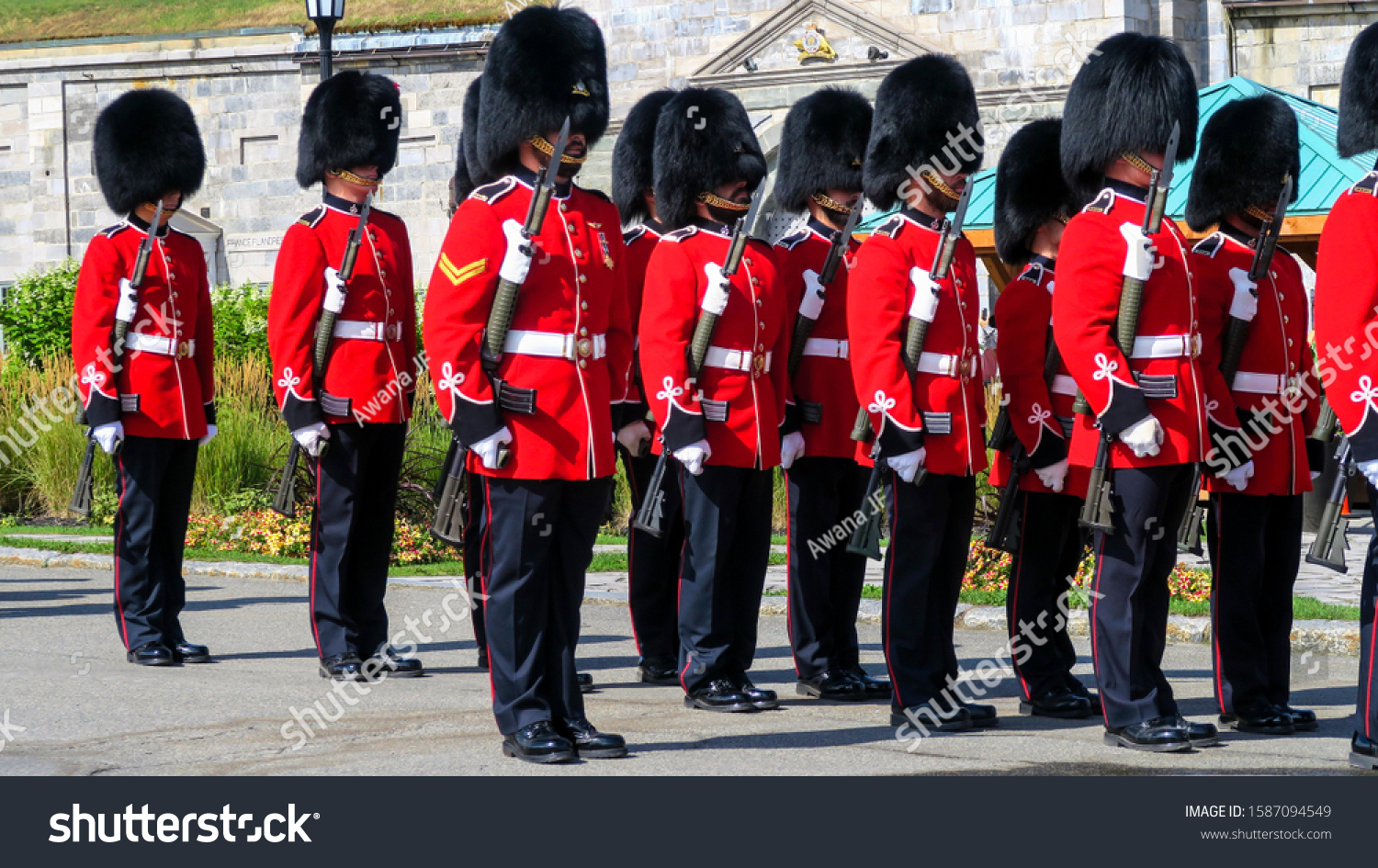stock-photo-quebec-canada-soldiers-of-th