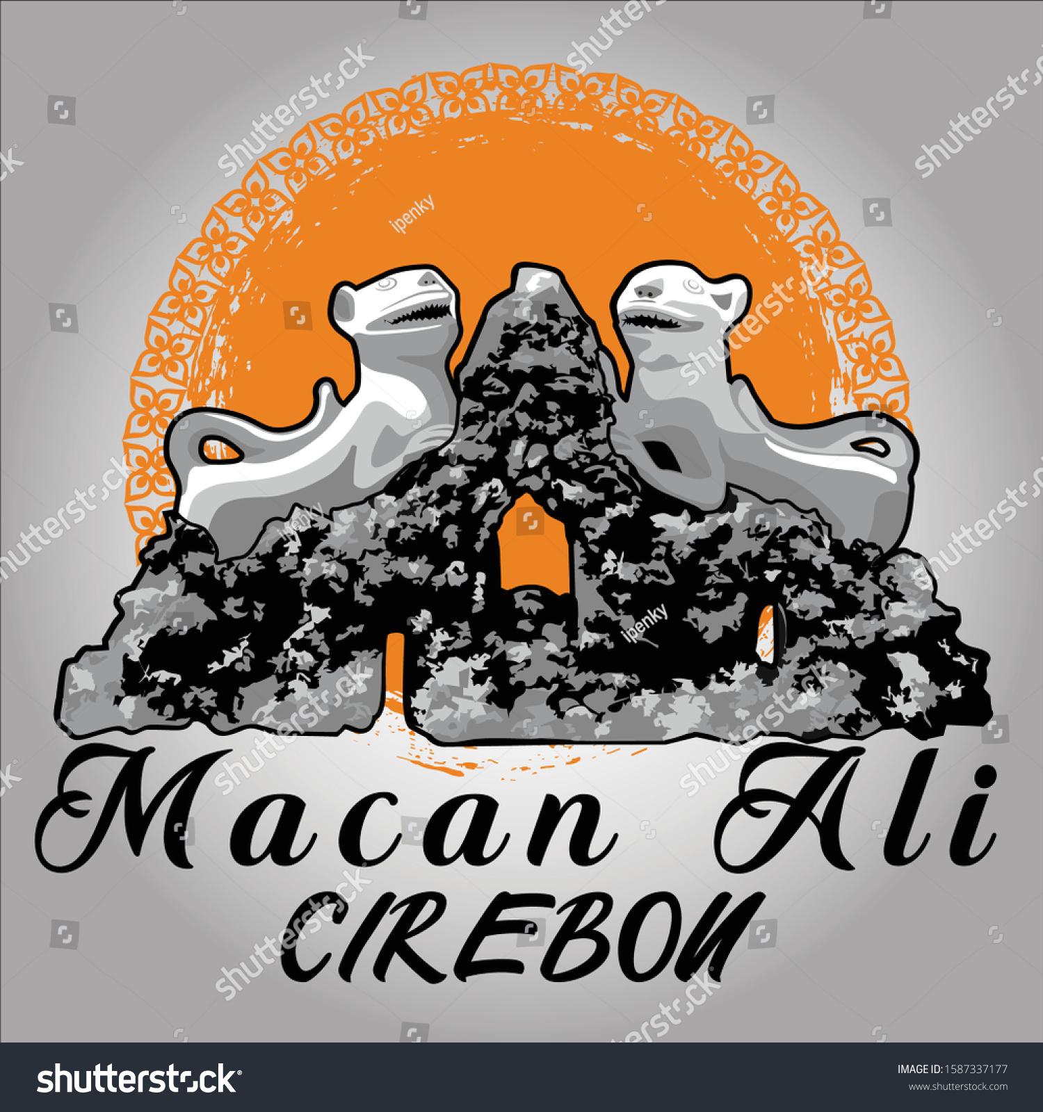 Gambar Logo Macan Ali Macan Ali Symbol Struggle Cirebon People Stock Vector Royalty Free 1587337177