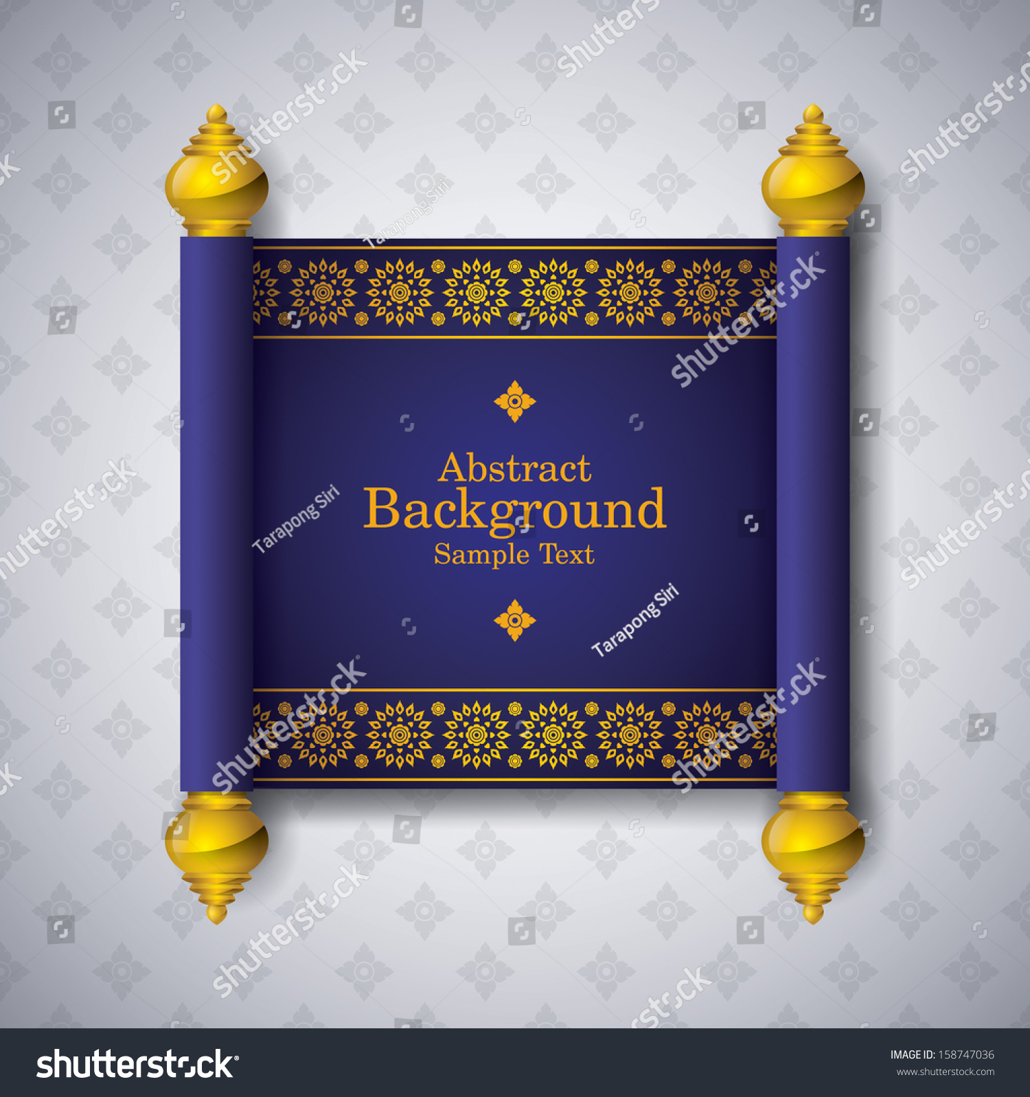 asian art background thai art pattern stock vector 158747036 asian art background thai art pattern vector for cover design page design poster