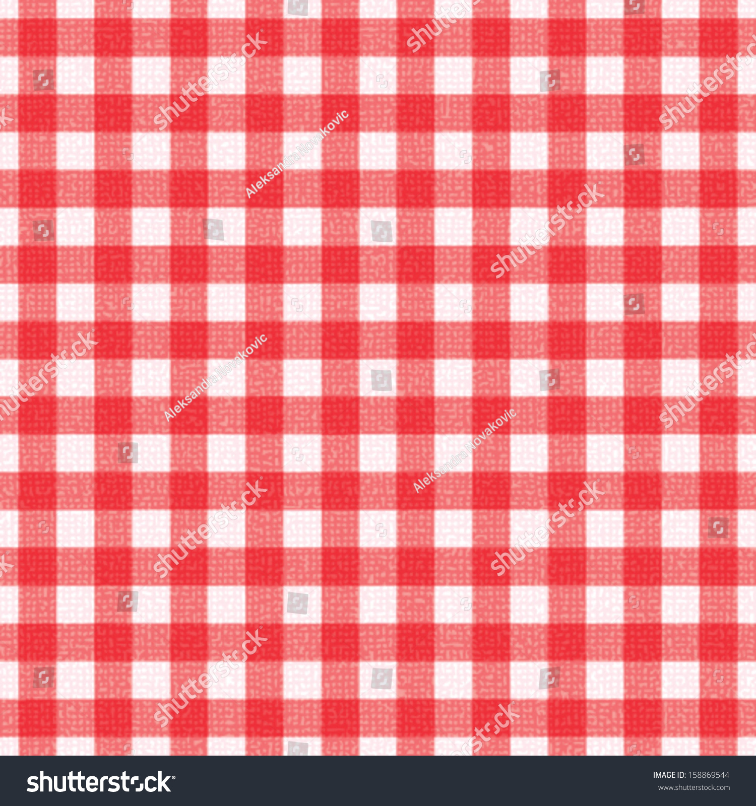 Plaid Tablecloth 4