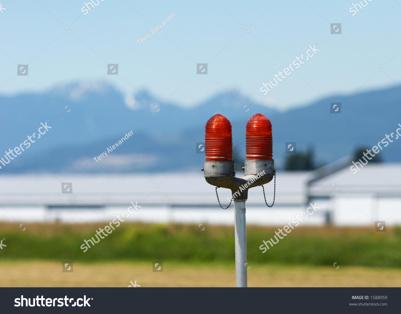 Aircraft Landing Lights Stock Photo (Edit Now) 1588959 - Shutterstock