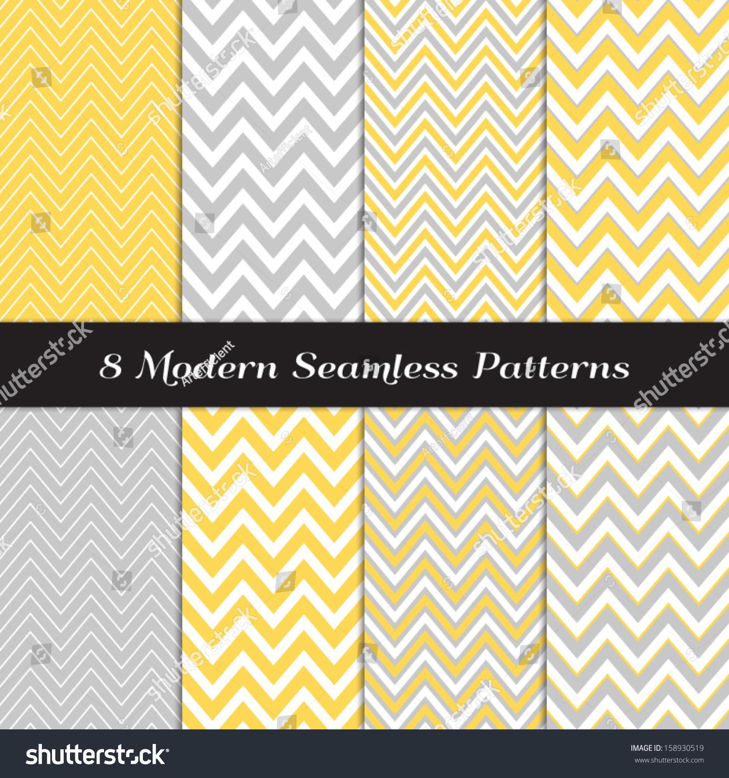Yellow chevron pattern background