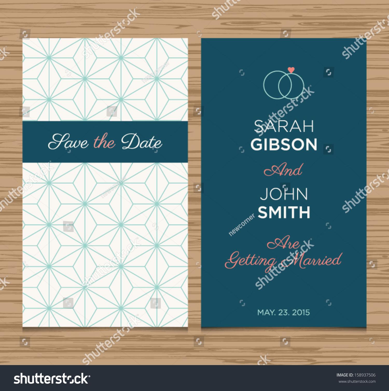 wedding invitation layout
