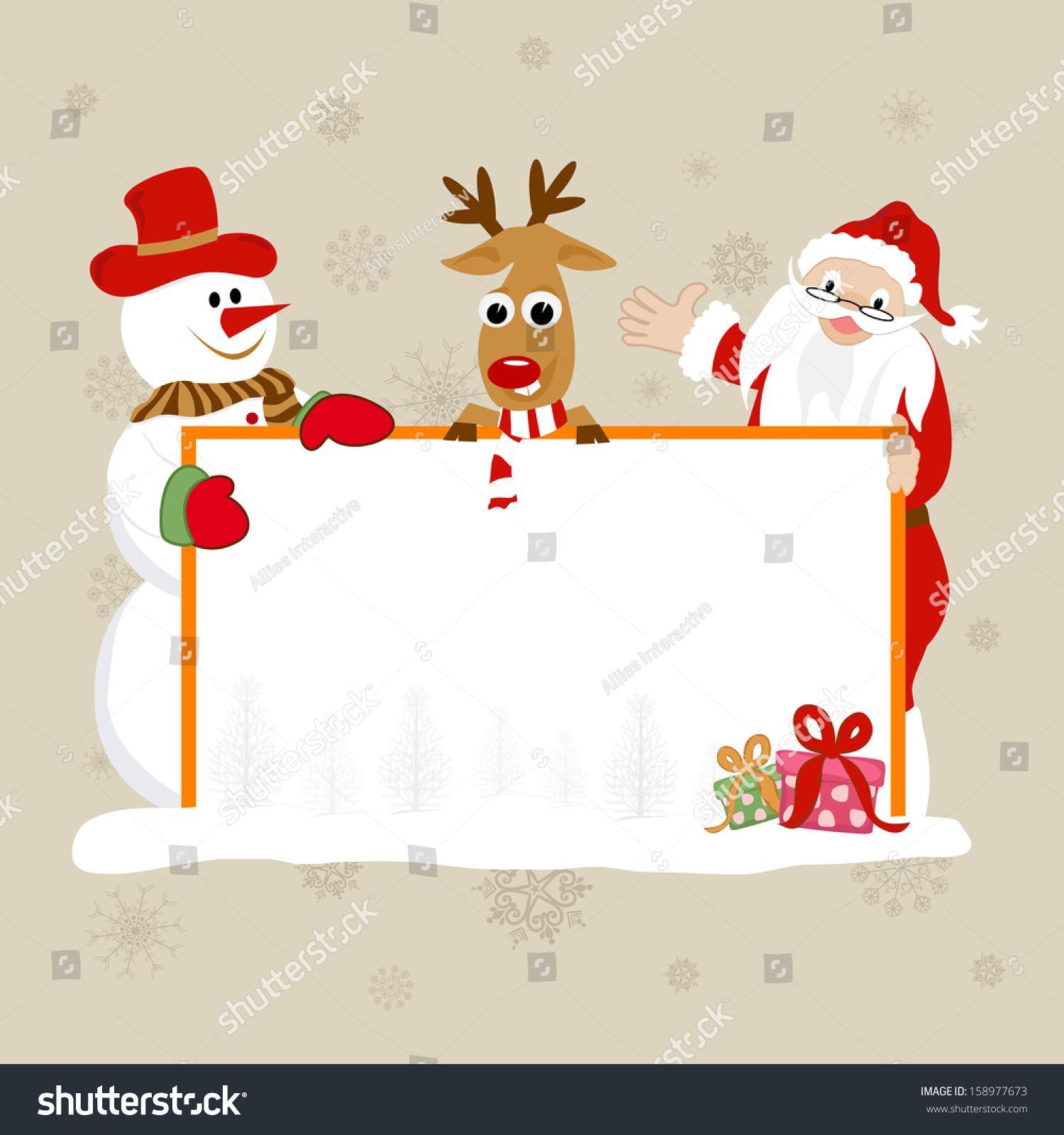 merry christmas celebration banner poster flyer stock