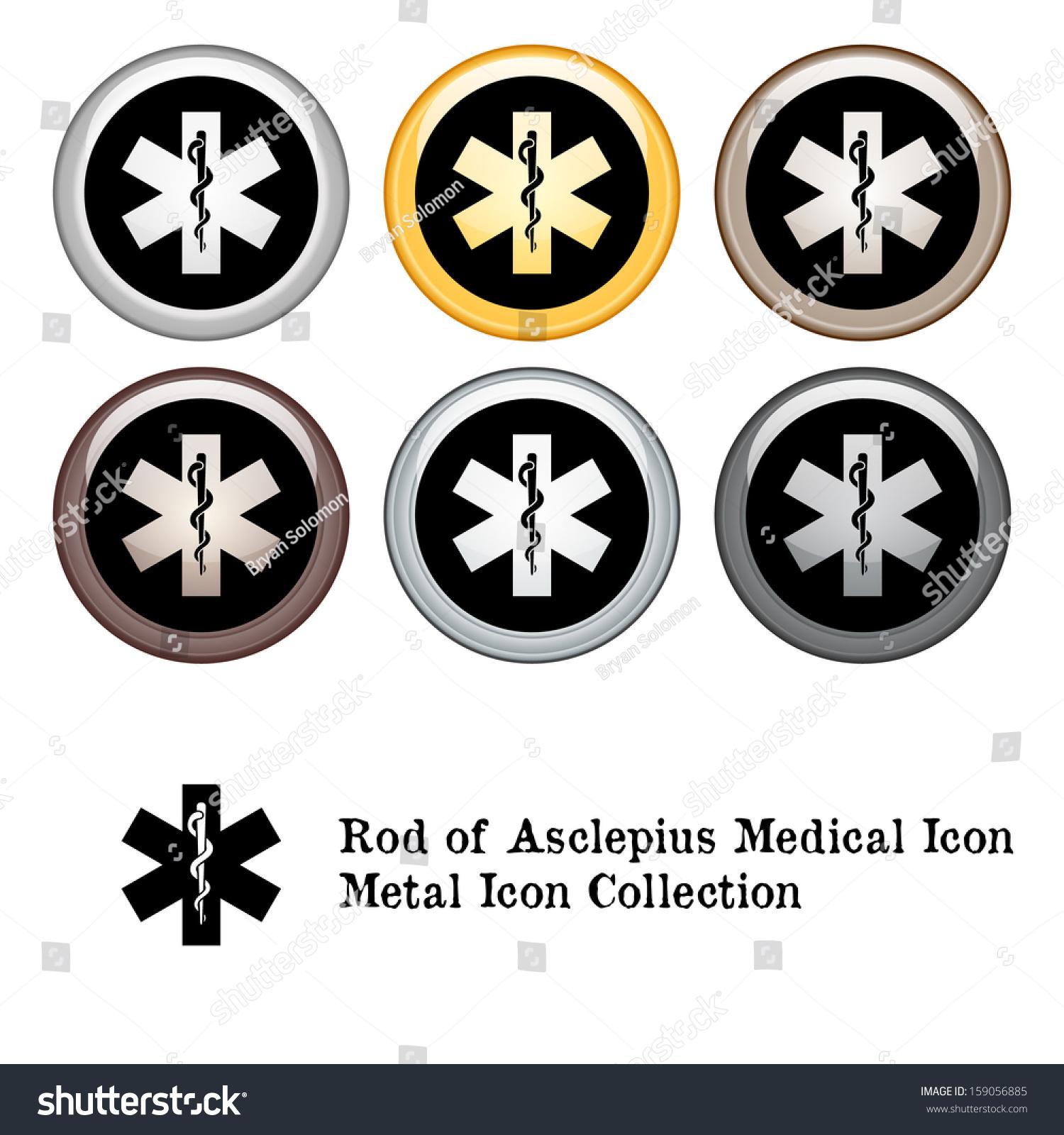 Royalty Free Stock Illustration Of Medical Symbol Rod Asclepius Icon
