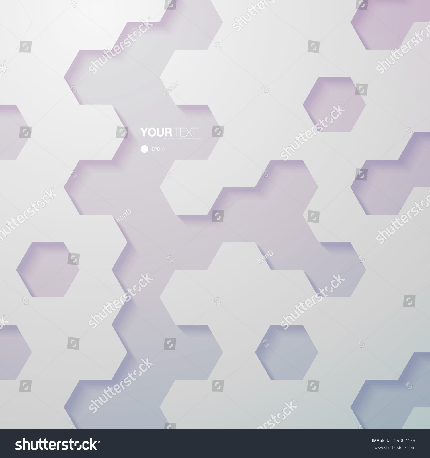 Abstract Vintage Color Hexagon Pattern Design Stock Vector ...