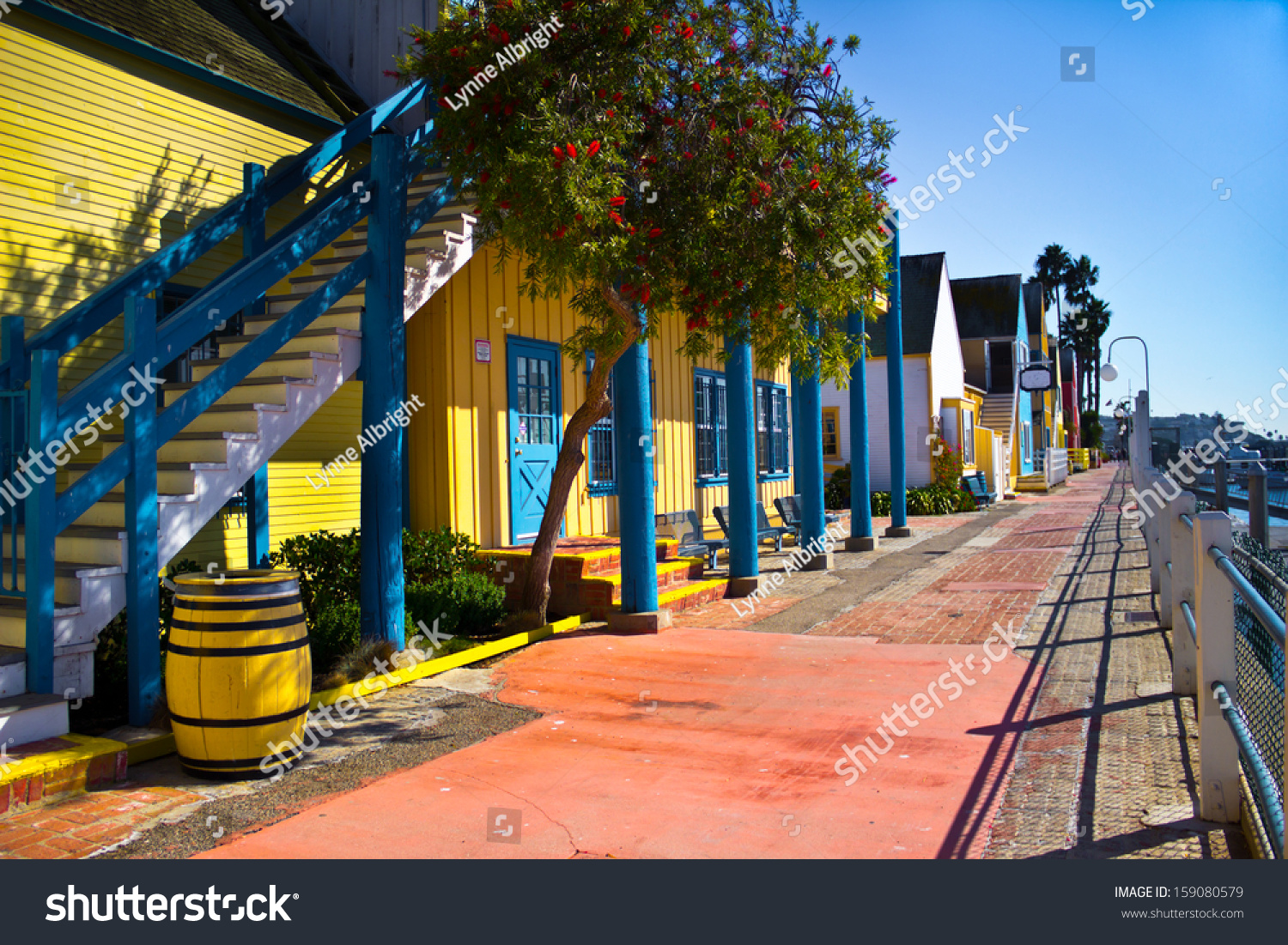 Fisherman'S Village Has Colorful Storefronts And A Wide ...