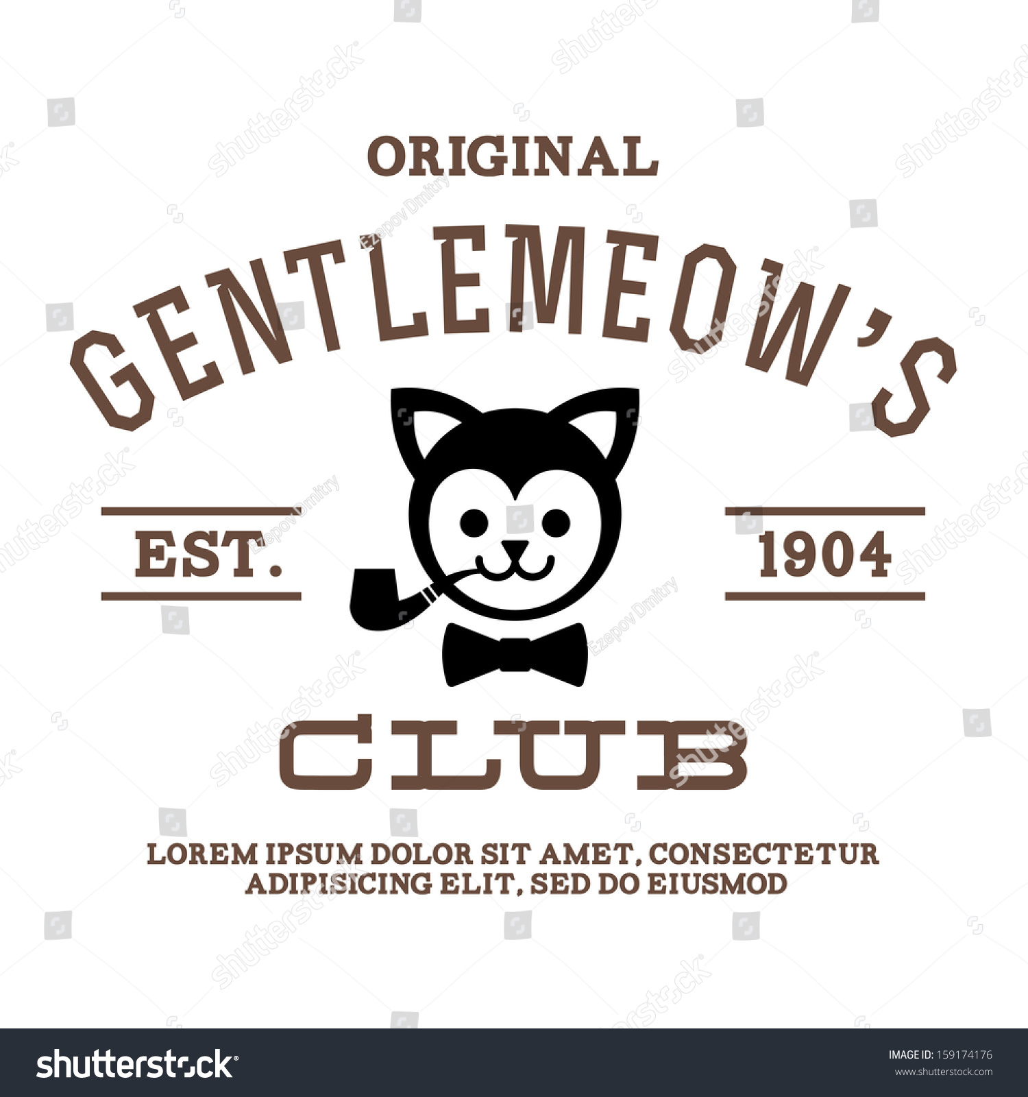 This is a picture of Gorgeous T Shirt Label Vector