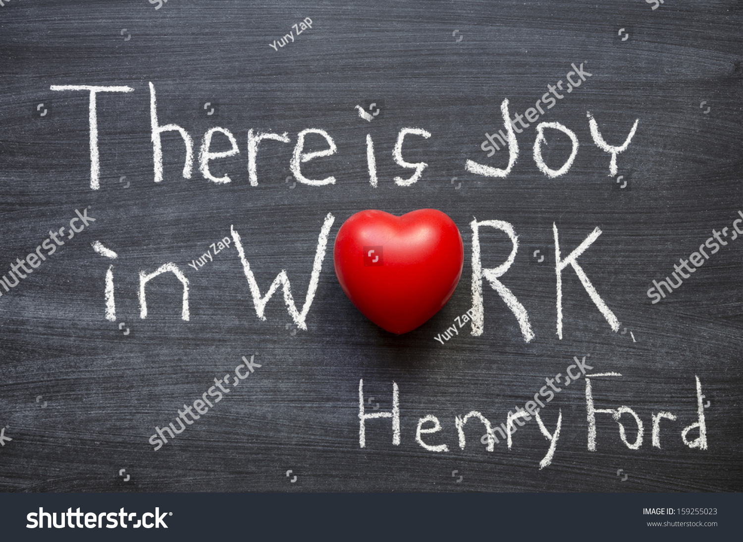 Ford Quote Excerpt Famous Henry Ford Quote There Stock Photo 159255023