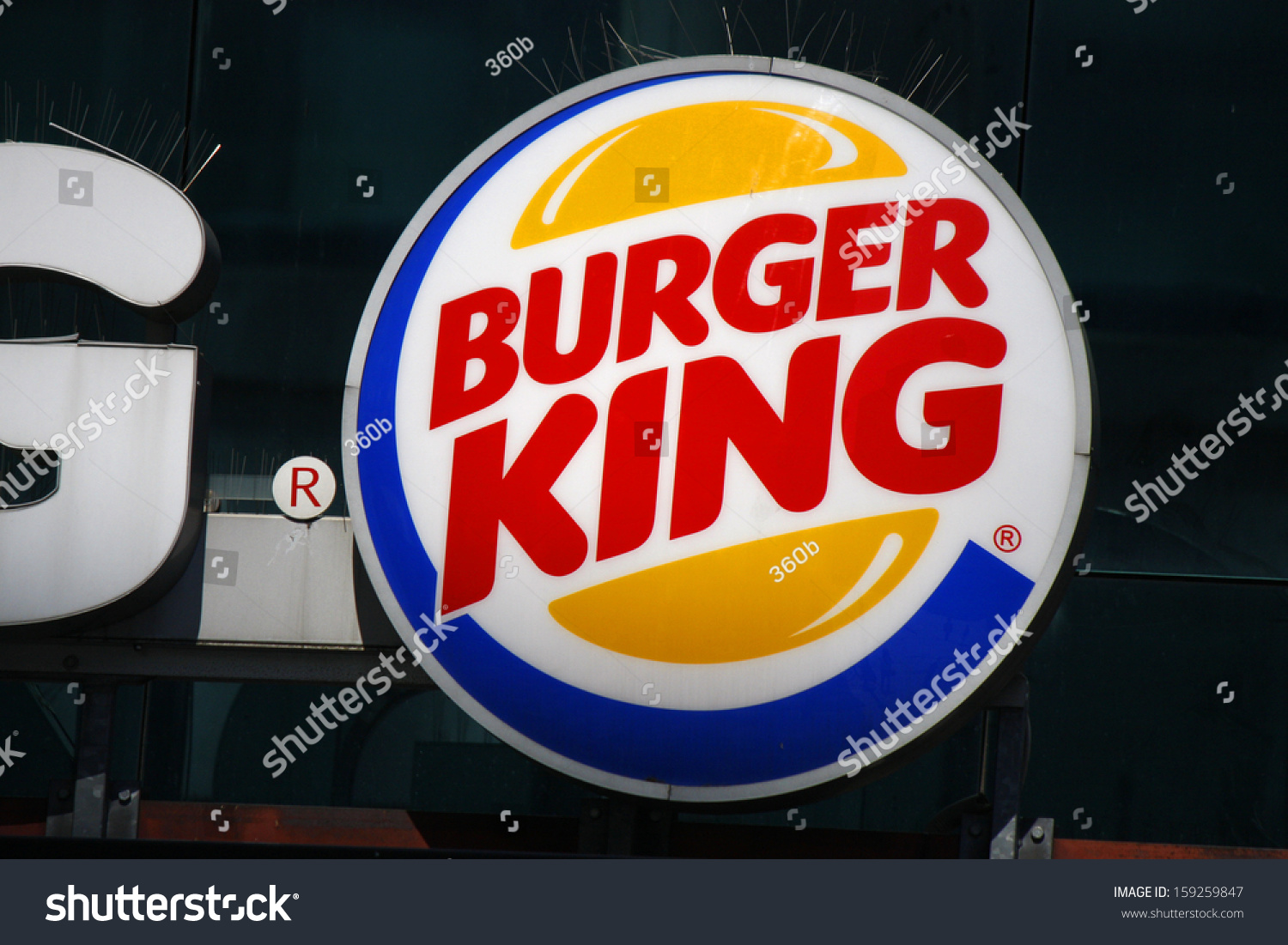 may 2012 berlin the logo of the fast food chain burger king berlin stock photo 159259847. Black Bedroom Furniture Sets. Home Design Ideas