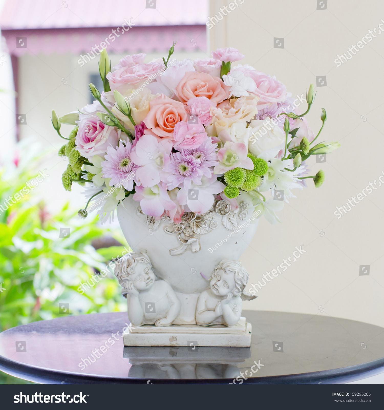 Beautiful Flowers In Vases Ez Canvas