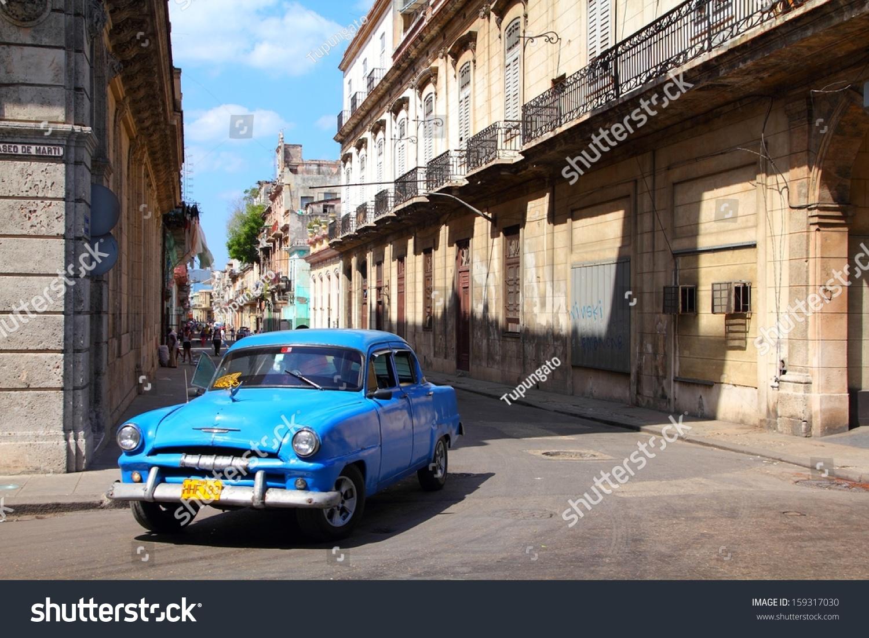 Havana February 27 People Ride Classic Stock Photo 159317030 ...