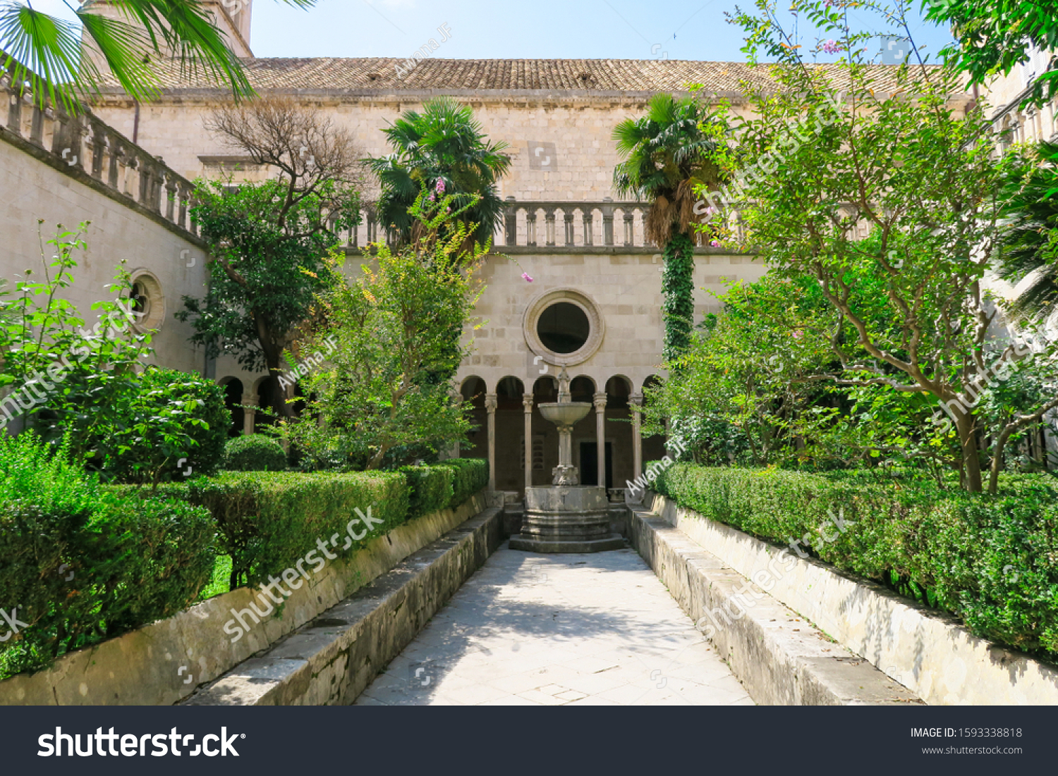stock-photo-cloister-of-the-franciscan-m